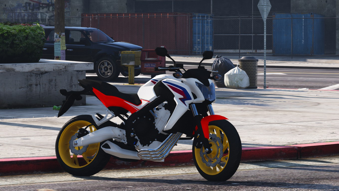 2015 honda cb650f gta5. Black Bedroom Furniture Sets. Home Design Ideas