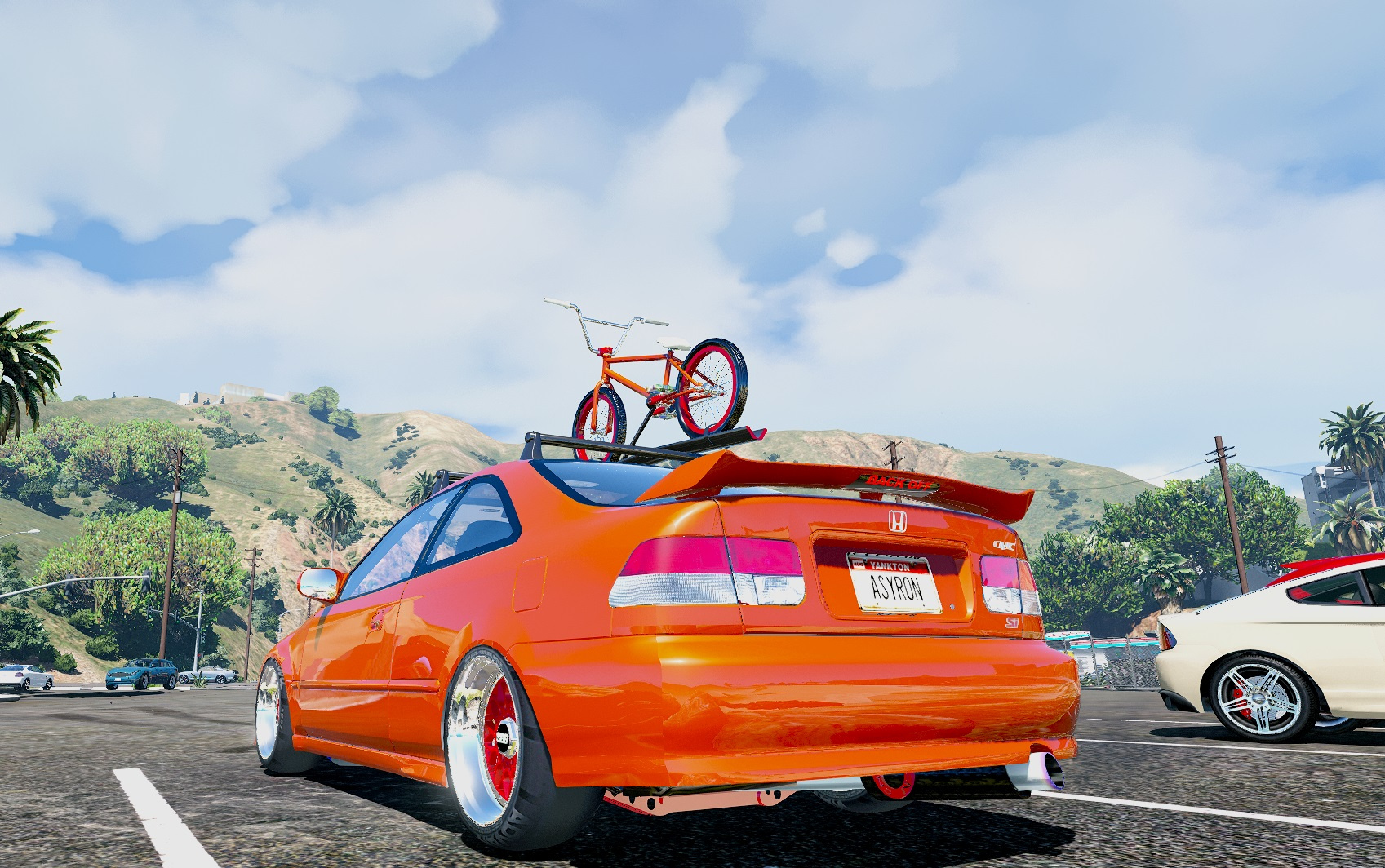 honda civic coupe ej1 ek9 mix add on replace gta5. Black Bedroom Furniture Sets. Home Design Ideas