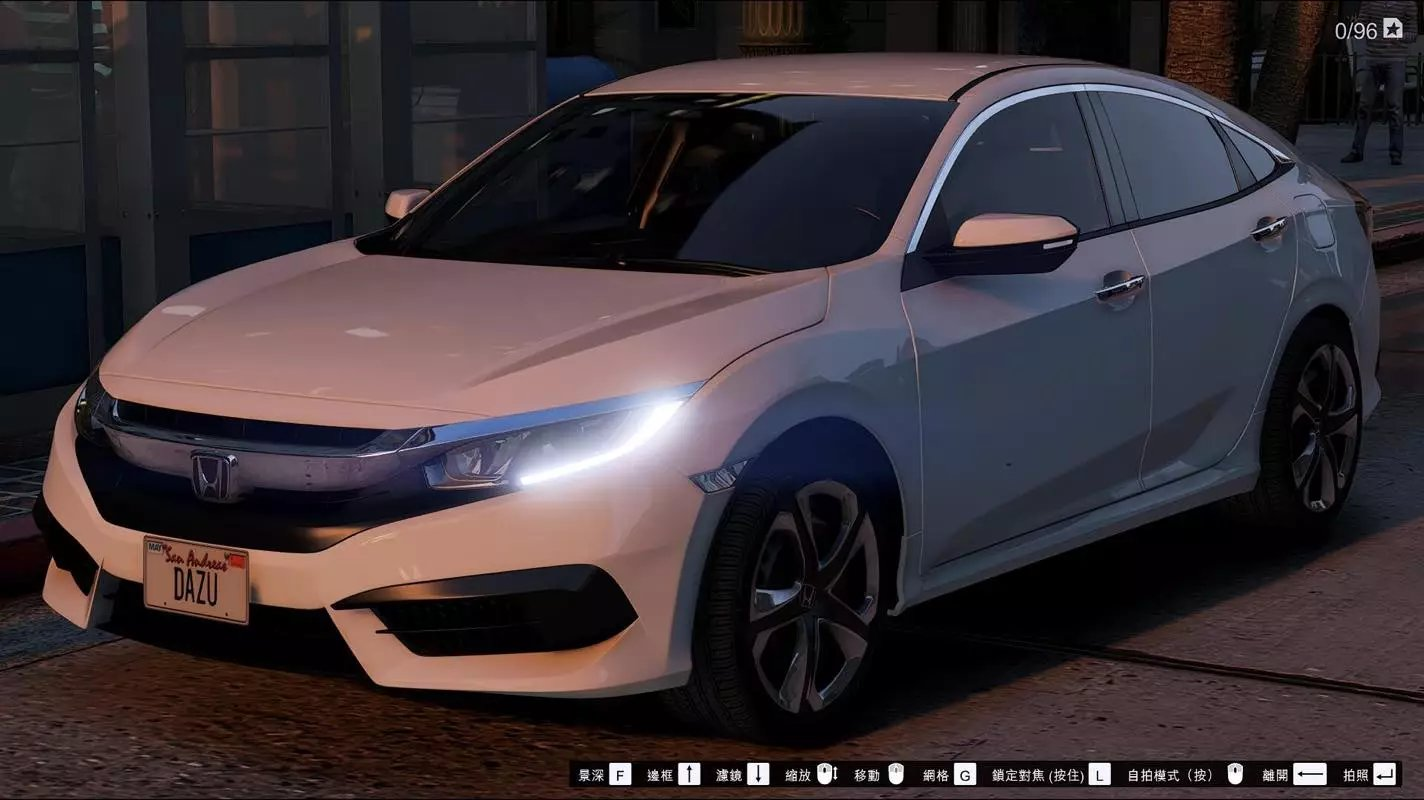honda civic sedan 2016 gta5. Black Bedroom Furniture Sets. Home Design Ideas