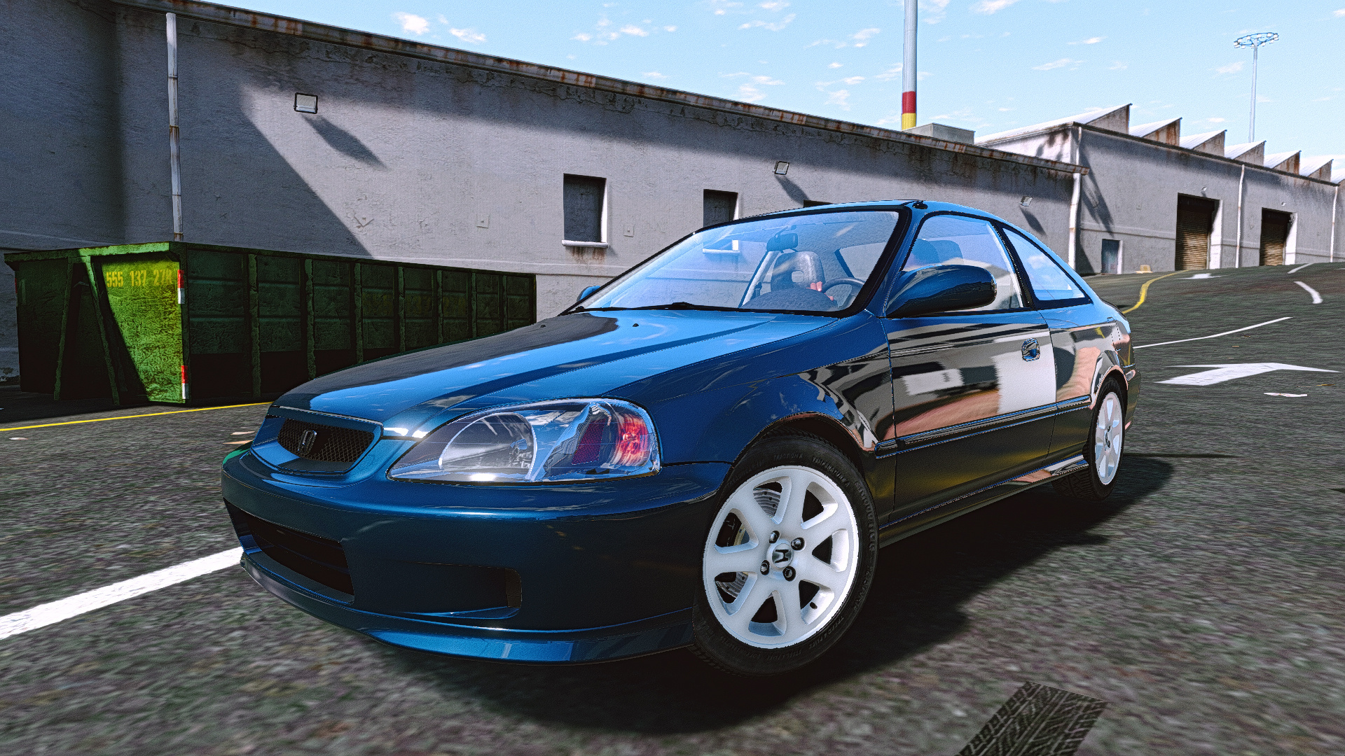 Lancer 1995 Model >> Honda Civic Si '99 [Add-On | Tuning] - GTA5-Mods.com