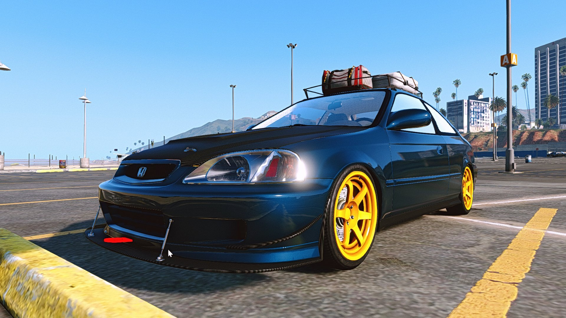 Honda Civic Si 99 Add On Tuning Gta5 Mods Com