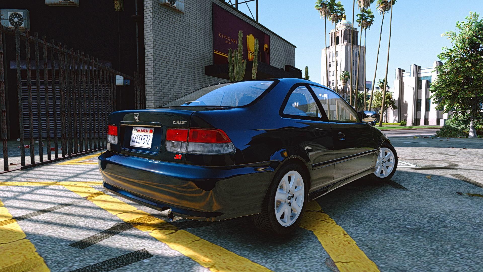 Honda Civic Si 99 AddOn  Tuning  GTA5Modscom