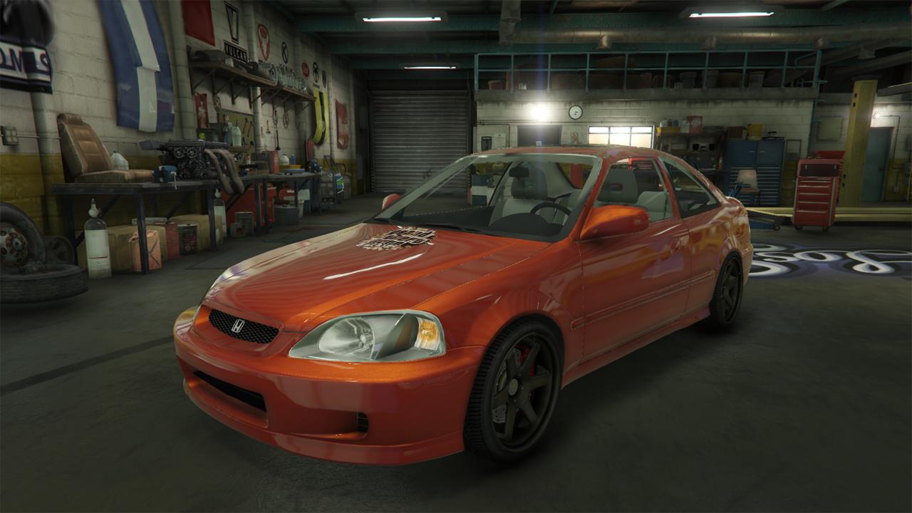 1999 Honda Civic Si - GTA5-Mods com