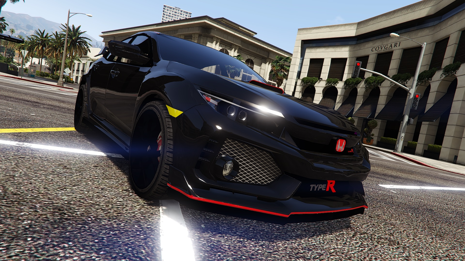 honda civic type   add  replace unlocked gta modscom
