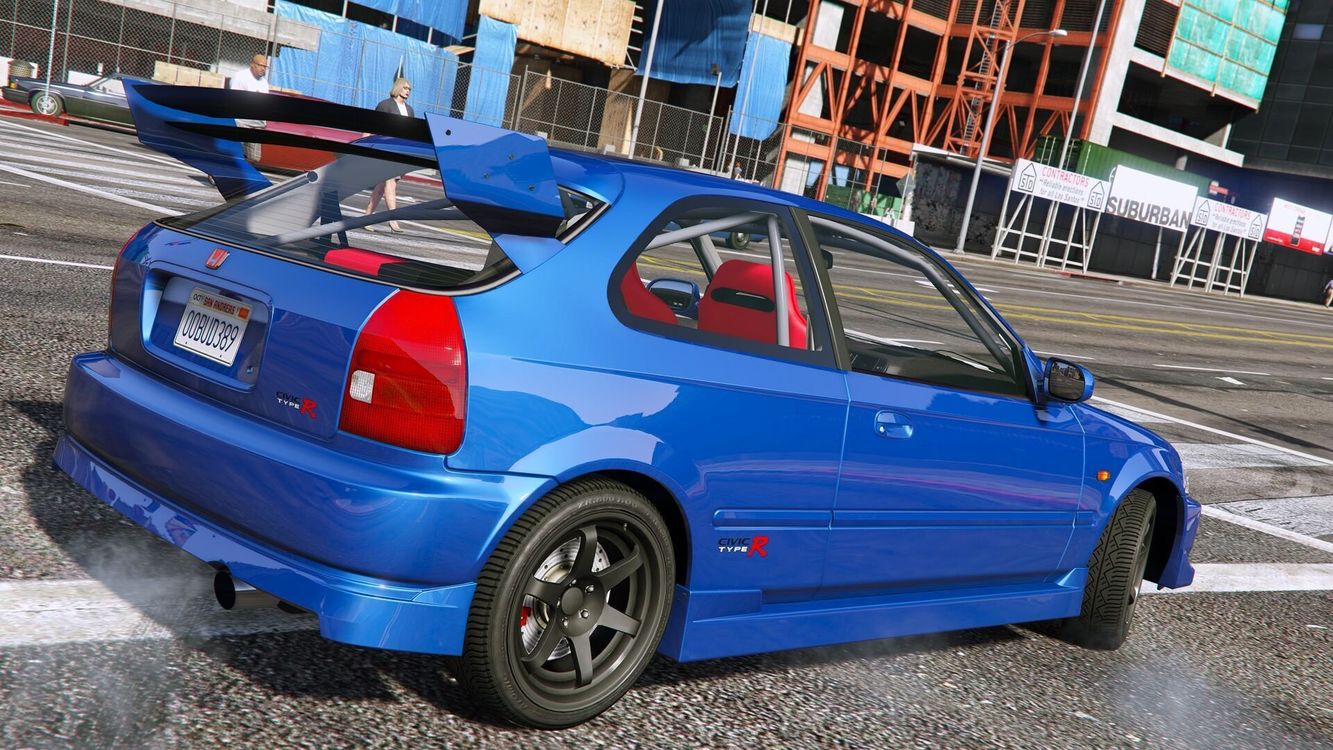 Honda civic type r ek9 add on tuning oiv gta5 for Honda civic ek9