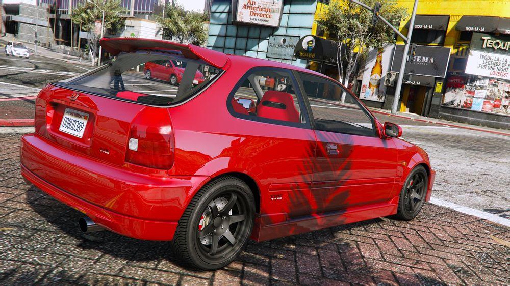 Honda Civic Type R Ek9 Gta5 Mods Com
