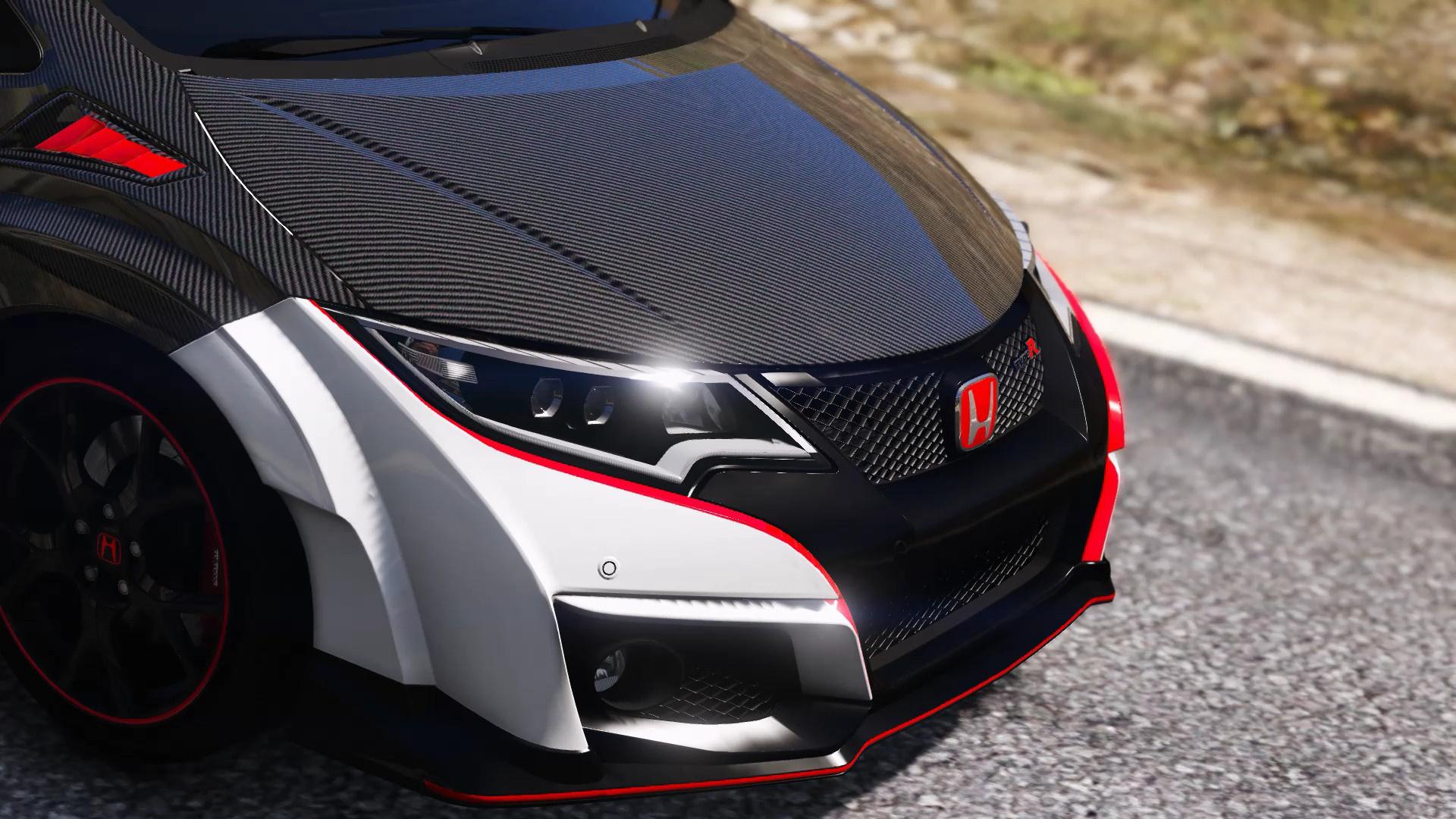 Honda Civic Type R (FK2) Carbon Parts Livery - GTA5-Mods.com