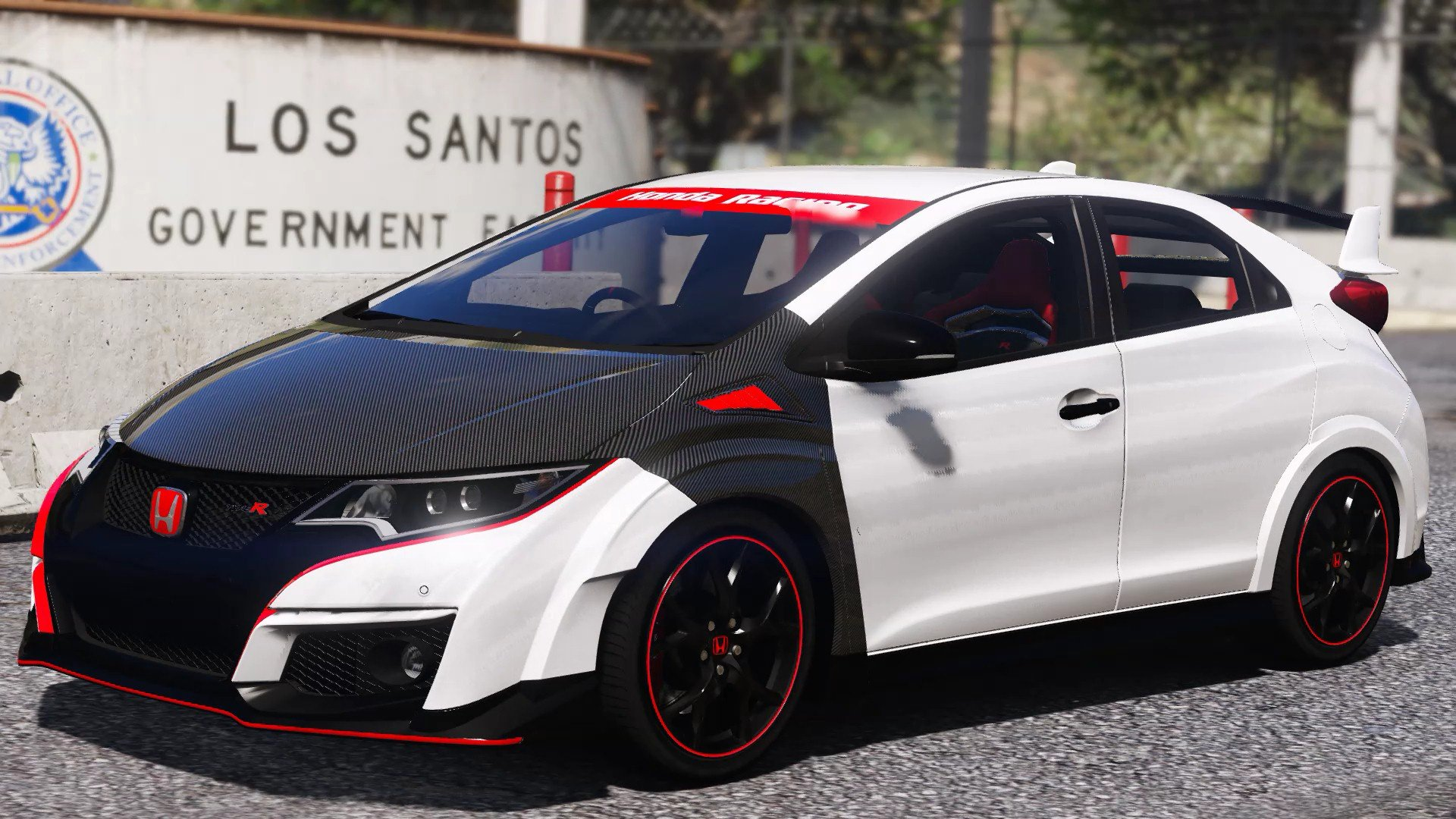 honda civic type r fk2 carbon parts livery gta5. Black Bedroom Furniture Sets. Home Design Ideas