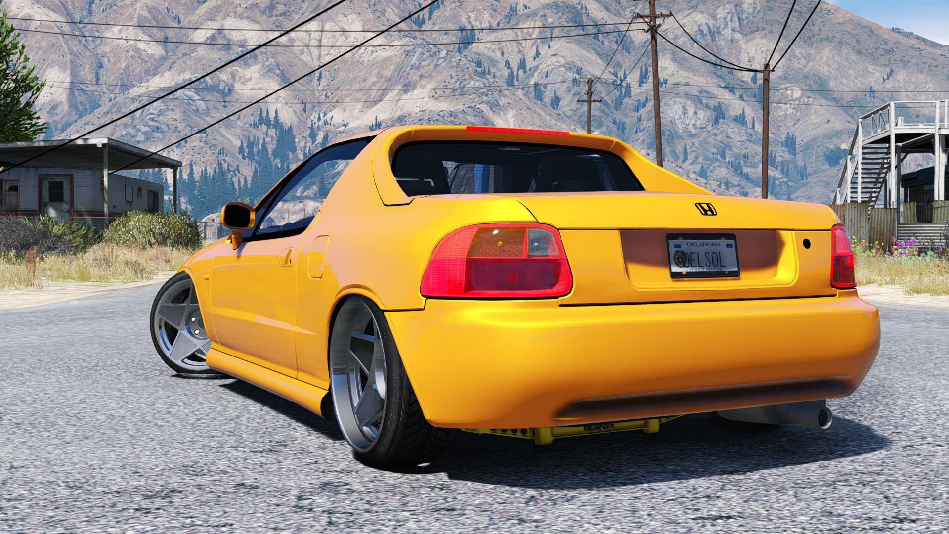 Honda Crx Del Sol Gta5 Mods Com