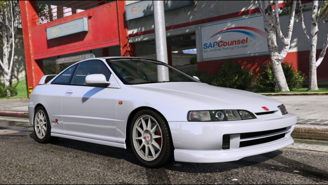 honda integra type r dc2 add on replace gta5. Black Bedroom Furniture Sets. Home Design Ideas