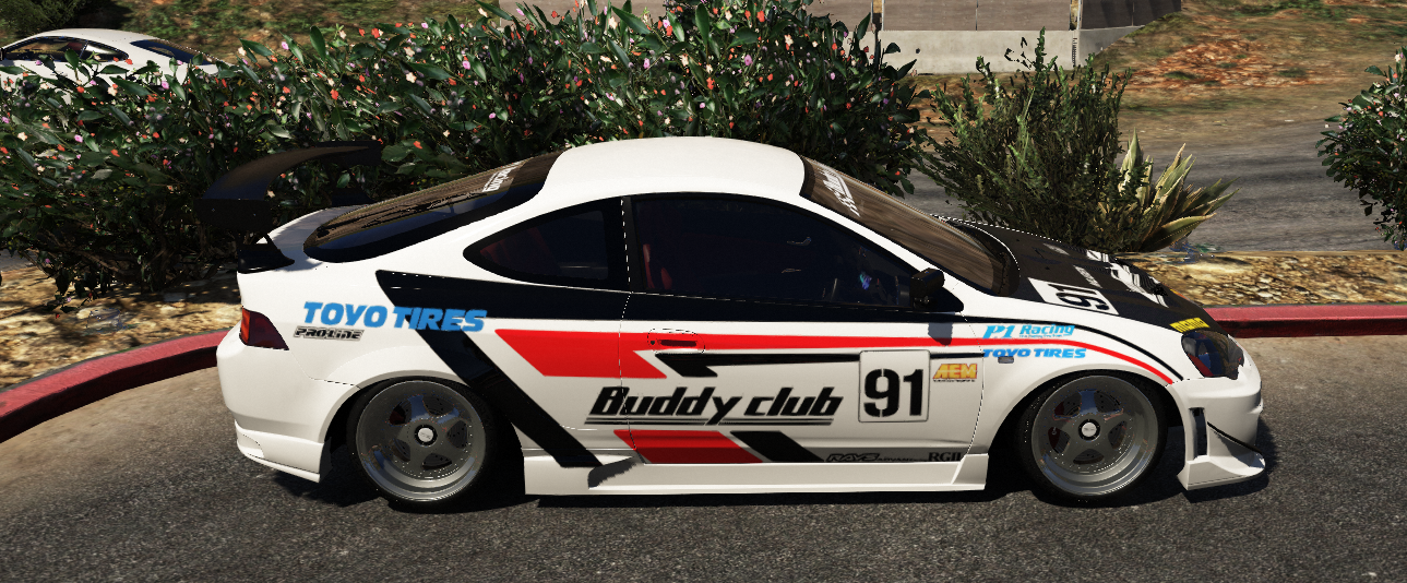 honda integra type r dc5 buddy club gta5. Black Bedroom Furniture Sets. Home Design Ideas