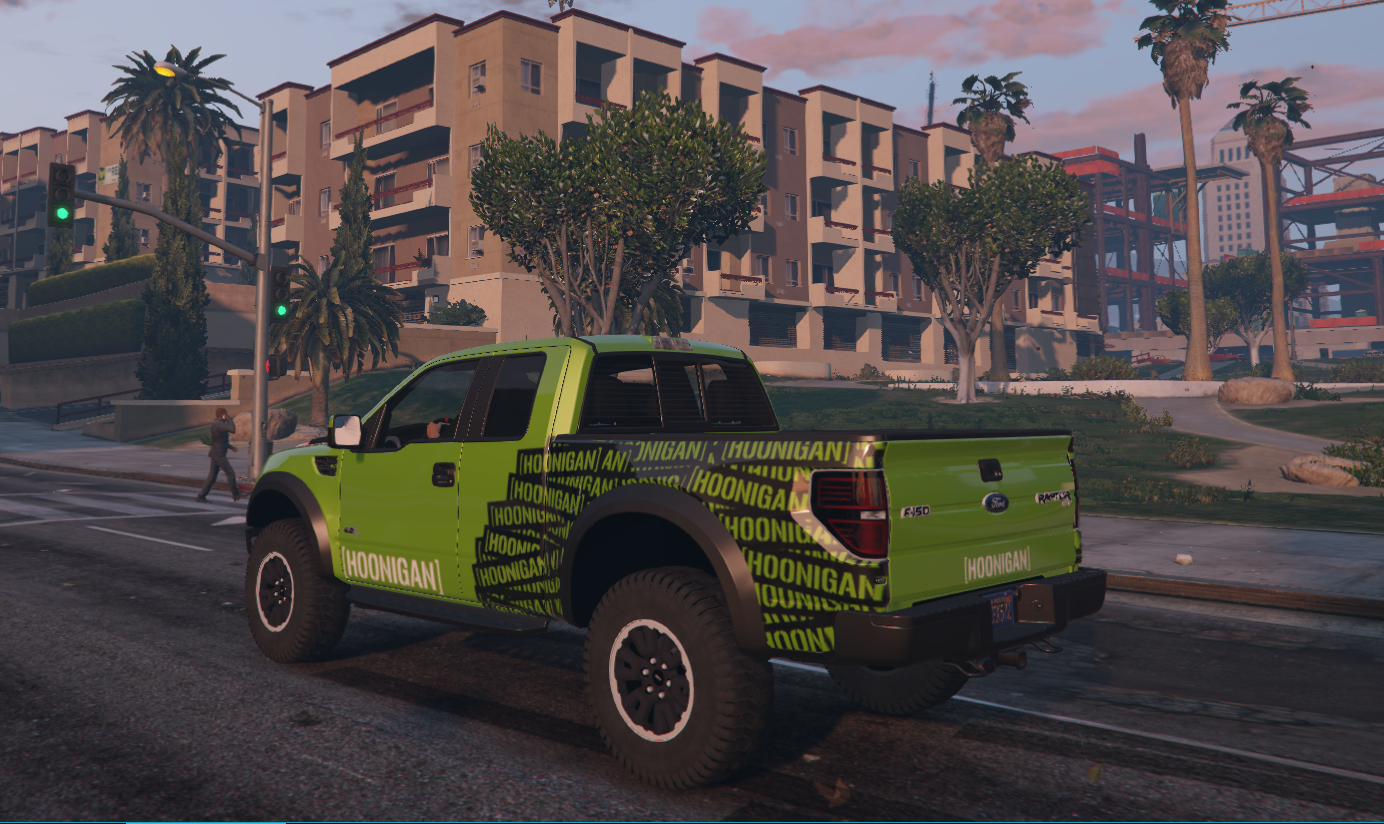 What Is A Hoonigan >> Hoonigan Stars and Stripes Livery for F150 Raptor - GTA5 ...