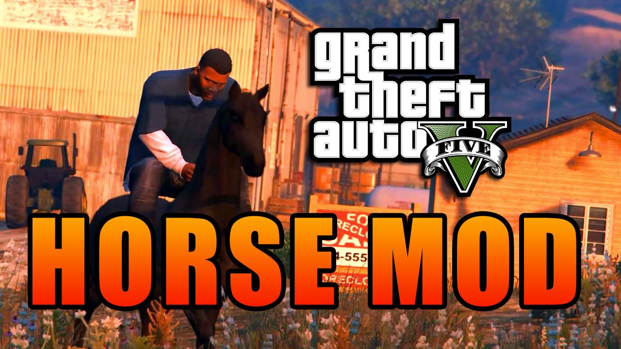 Скачать Лошадь в GTA 5 бесплатно