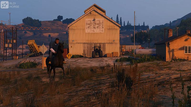 лошадь в гта 5