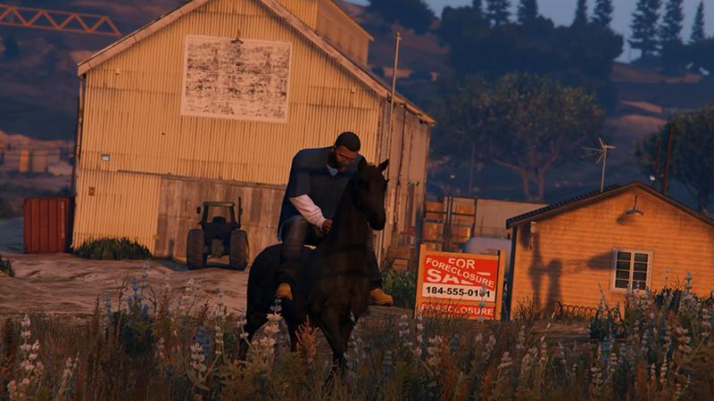 Скачать мод на лошадь в гта 5