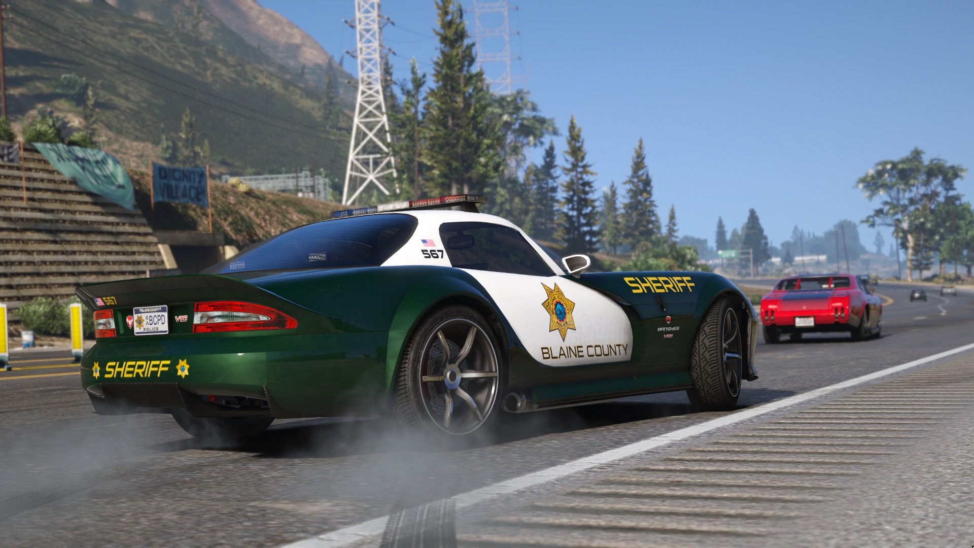 Hot Pursuit: Blaine County PD Pack [Add-On | Template