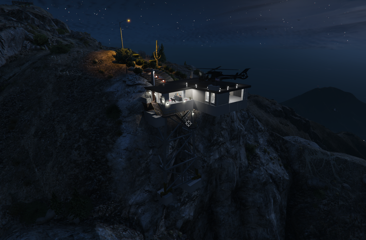 mount chiliad house gta5 mods