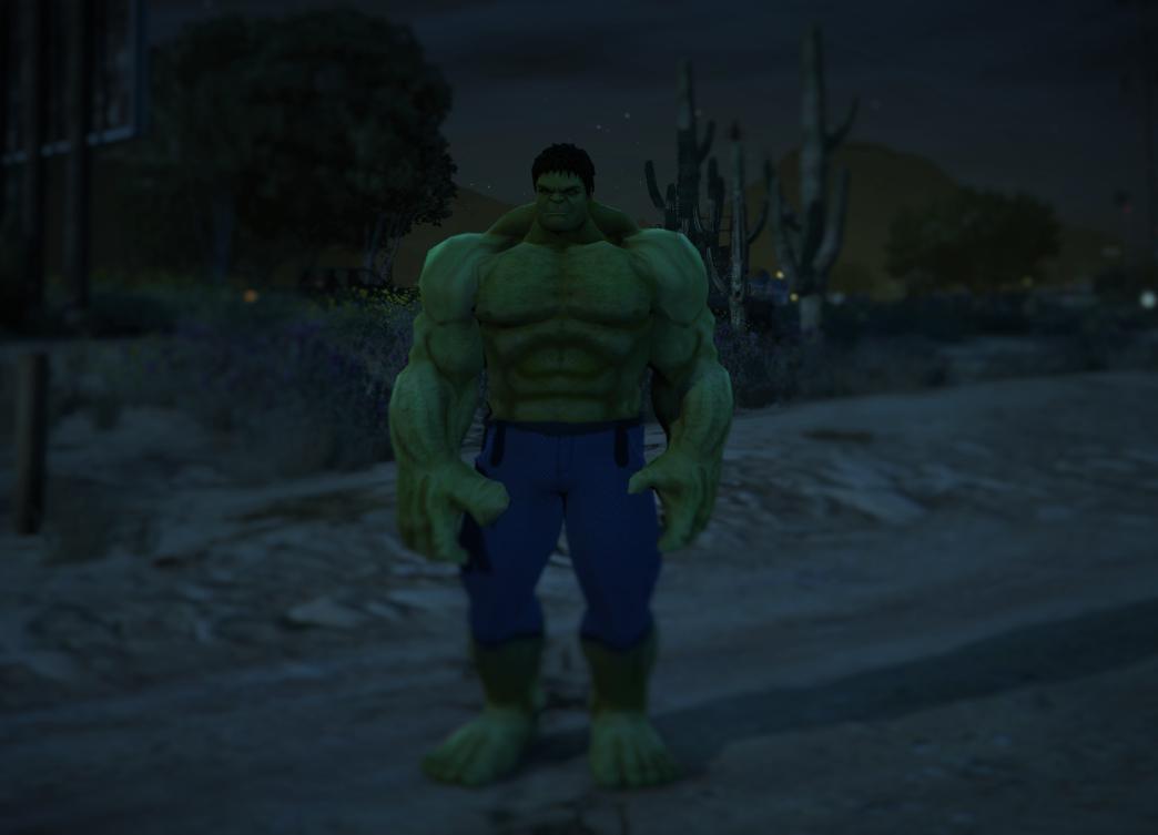 Bigger Hulk [Ped Add-On] - GTA5-Mods com