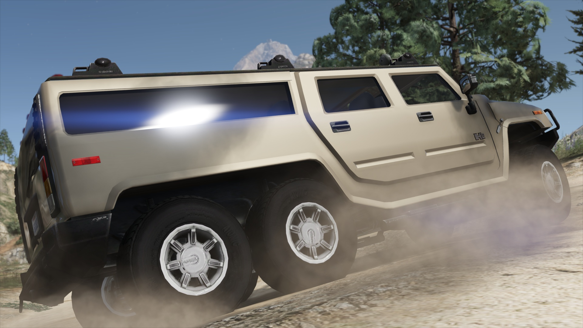 Hummer H6 Add On Replace Template Gta5 Mods Com