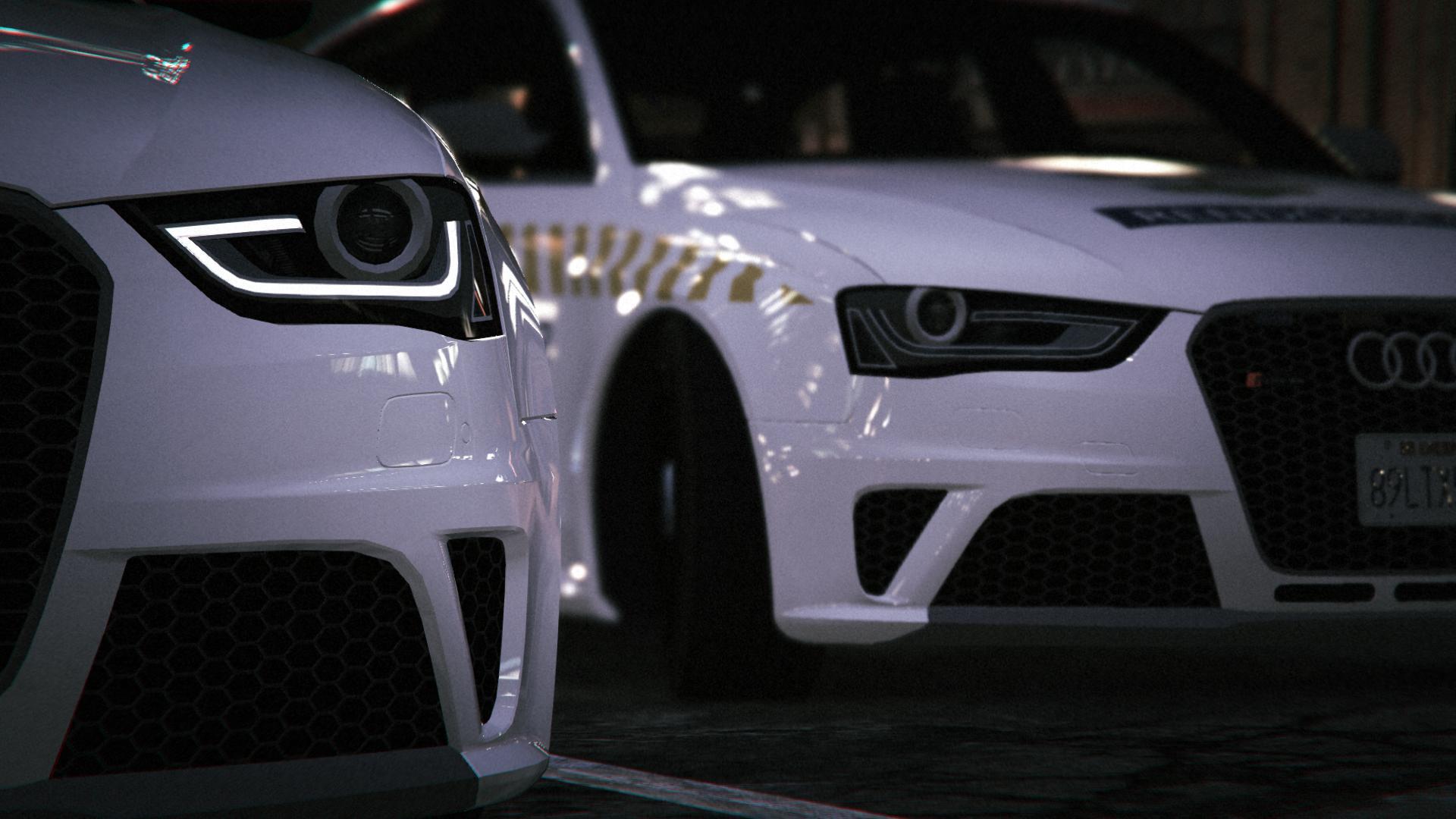 Hungarian Police Audi RS4 Avant