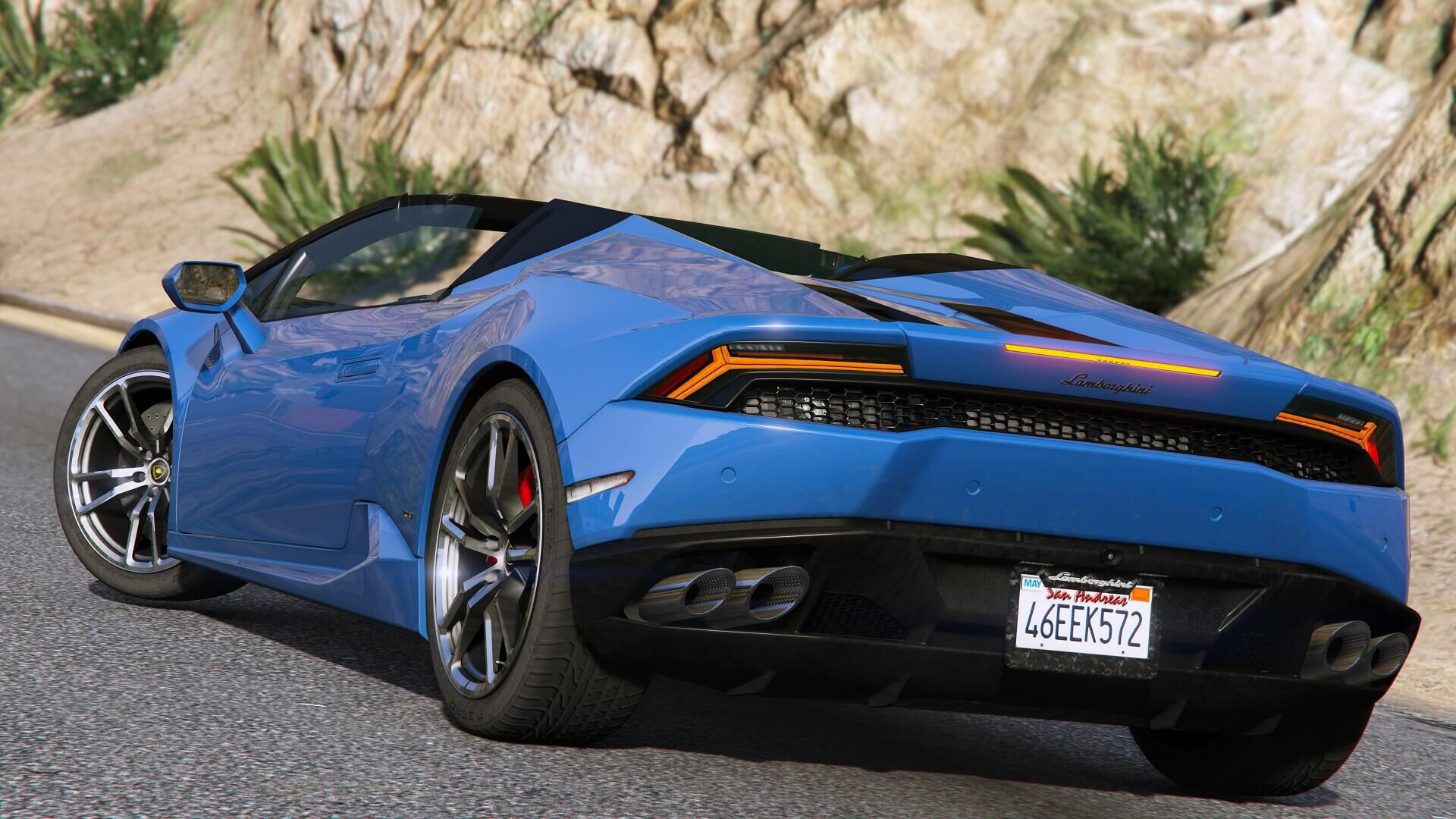 2017 lamborghini huracan spyder [add-on | wipers] - gta5-mods