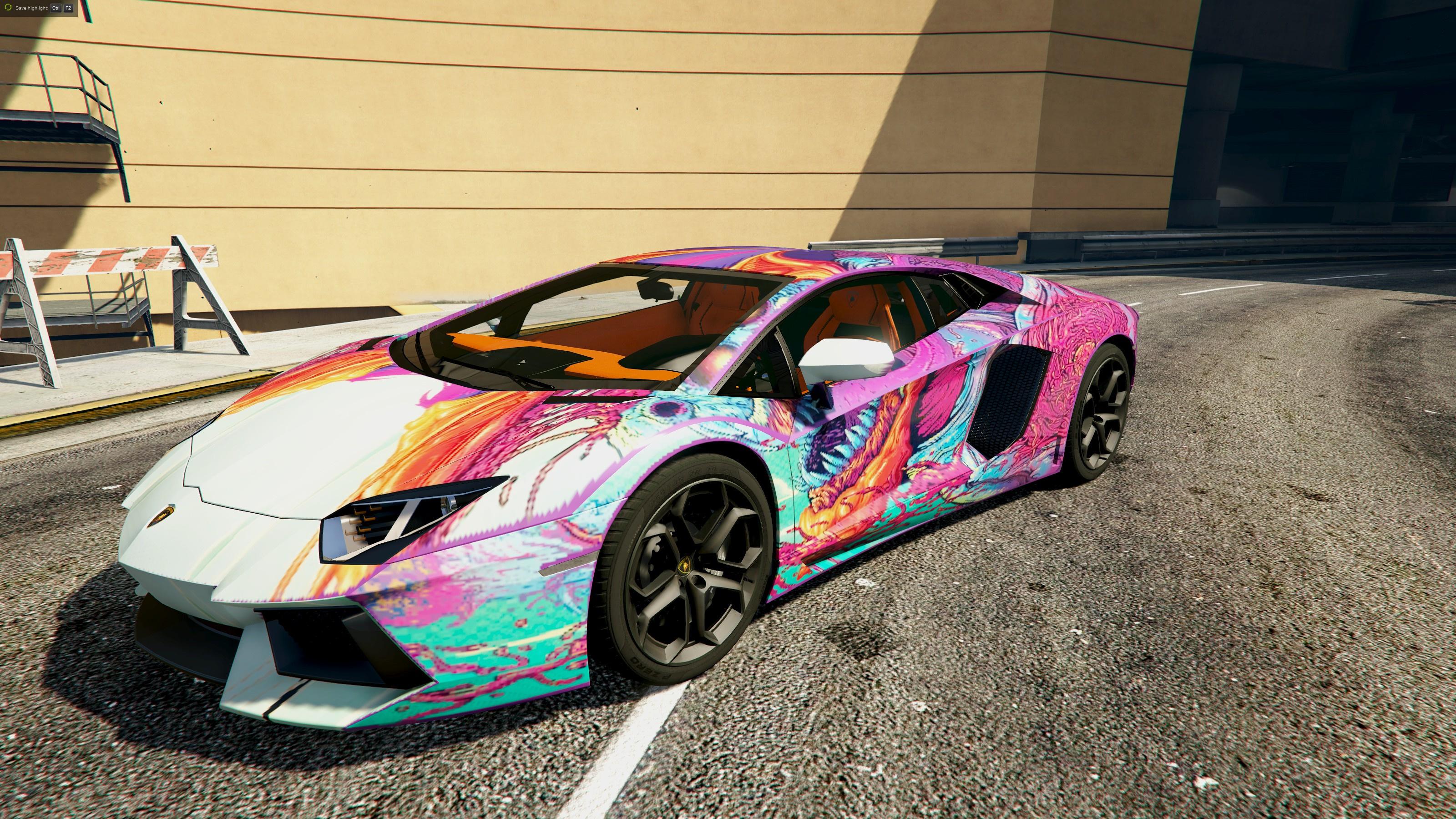 Hyper Beast Lamborghini Aventador Livery Gta5 Mods Com