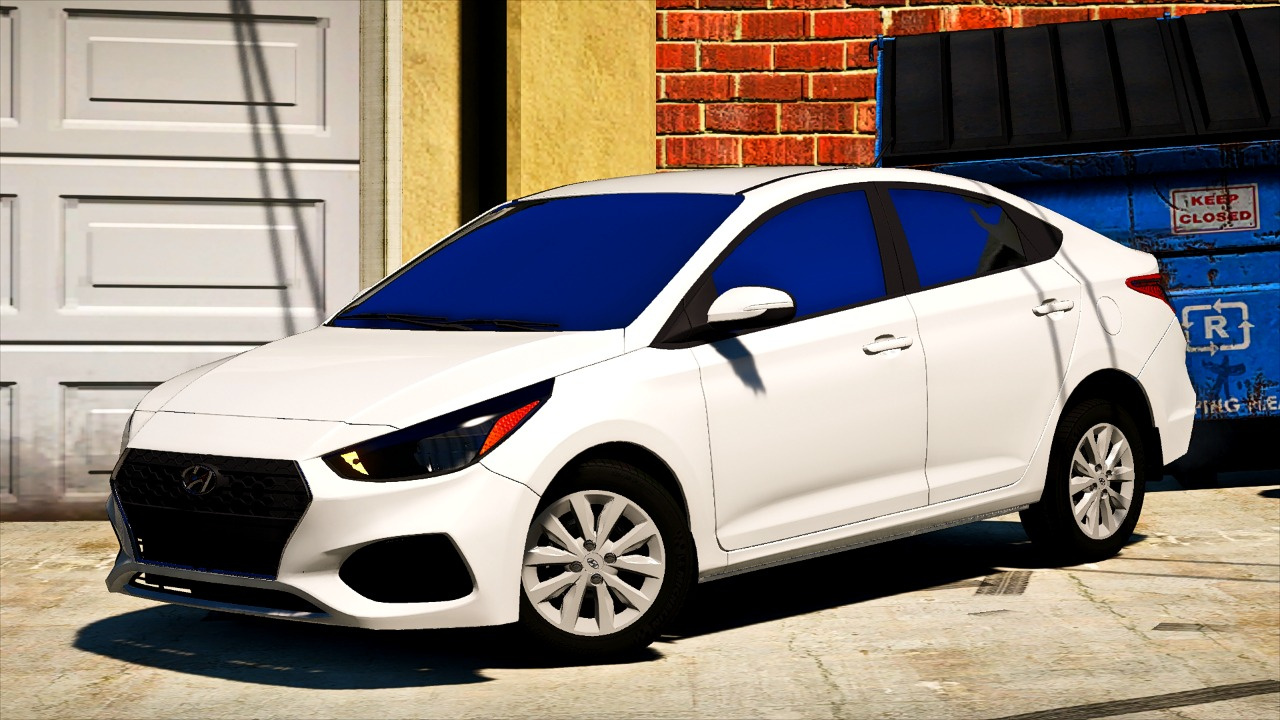 Hyundai Accent 2018 Se 3 Versions Replace Gta5 Mods Com