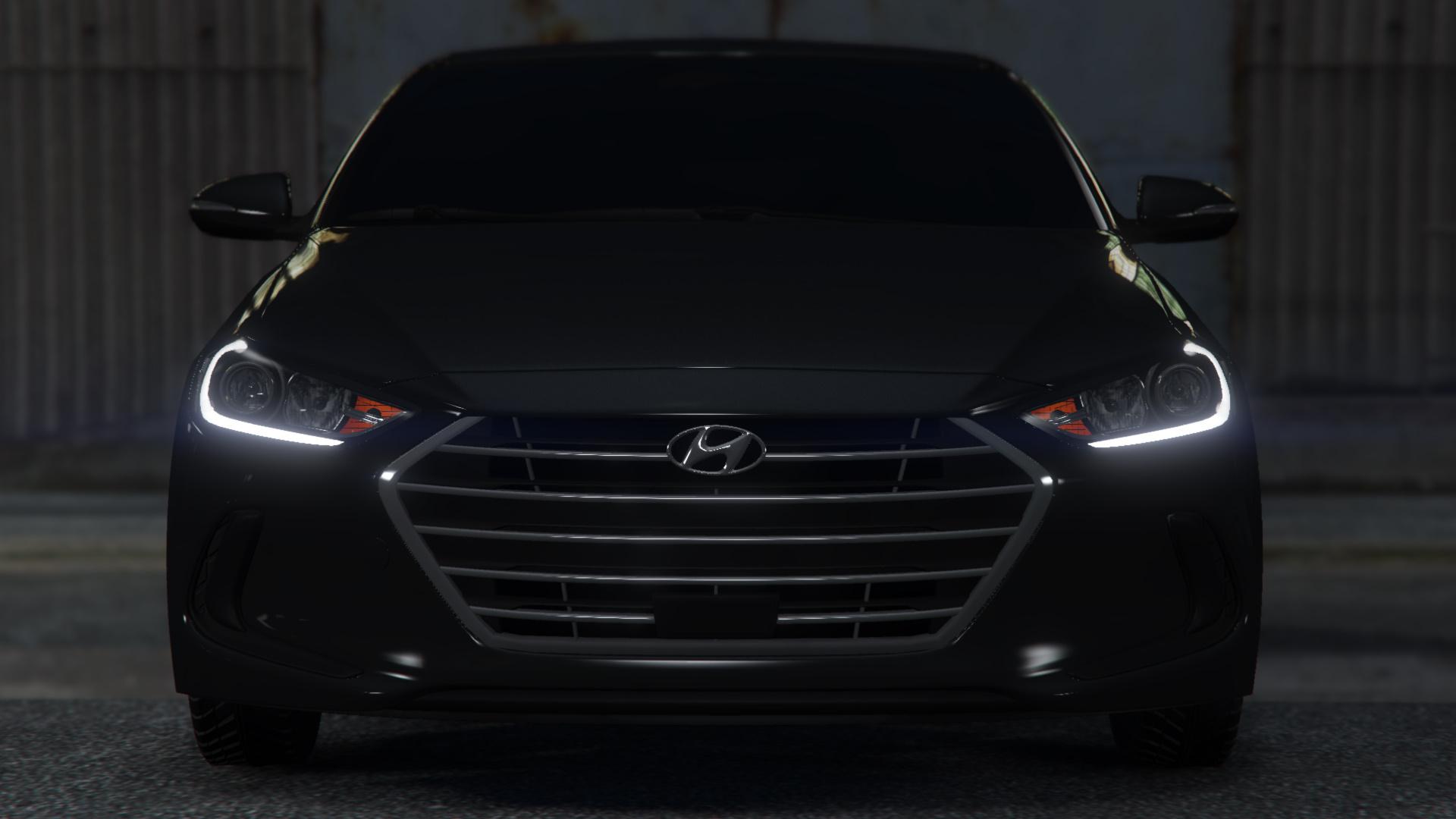 Hyundai Elantra 2017 Replace Gta5 Mods Com