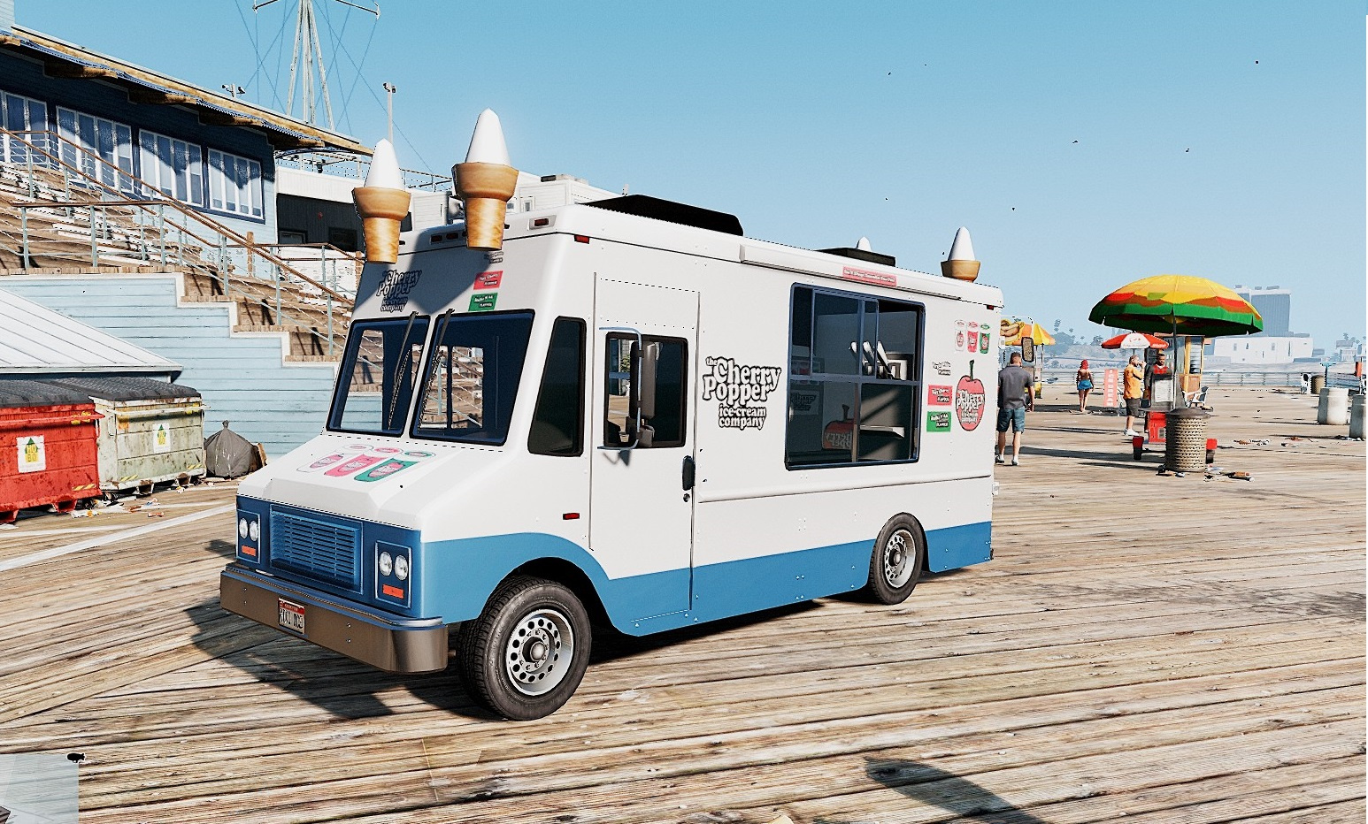 Ice Cream Van - Cherry Popper Ice Cream Company - GTA5-Mods.com