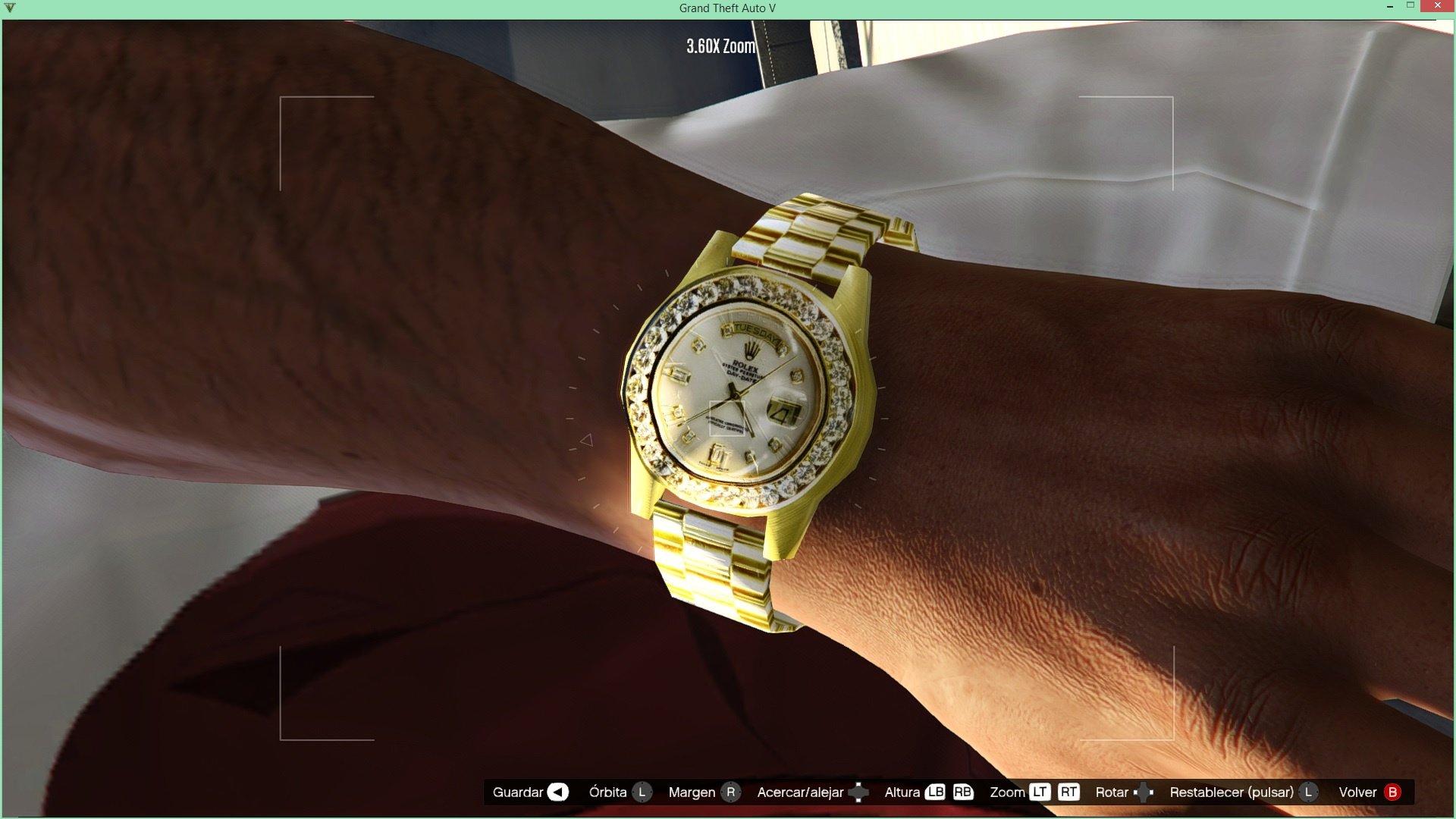 d6f60b20c5f Iced Out Rolex + Gucci Band - GTA5-Mods.com