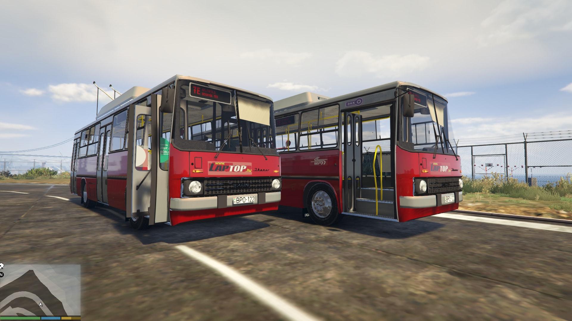 Ikarus trolleybus gta5 Ikarus