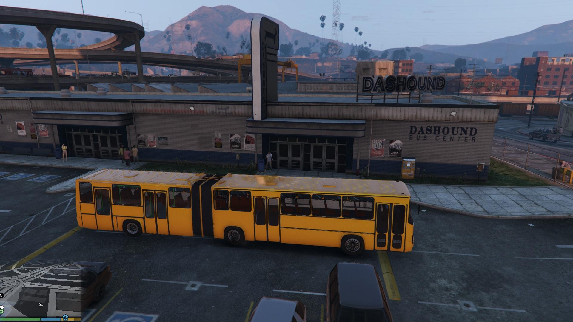 Ikarus 284 bus gta5 Ikarus