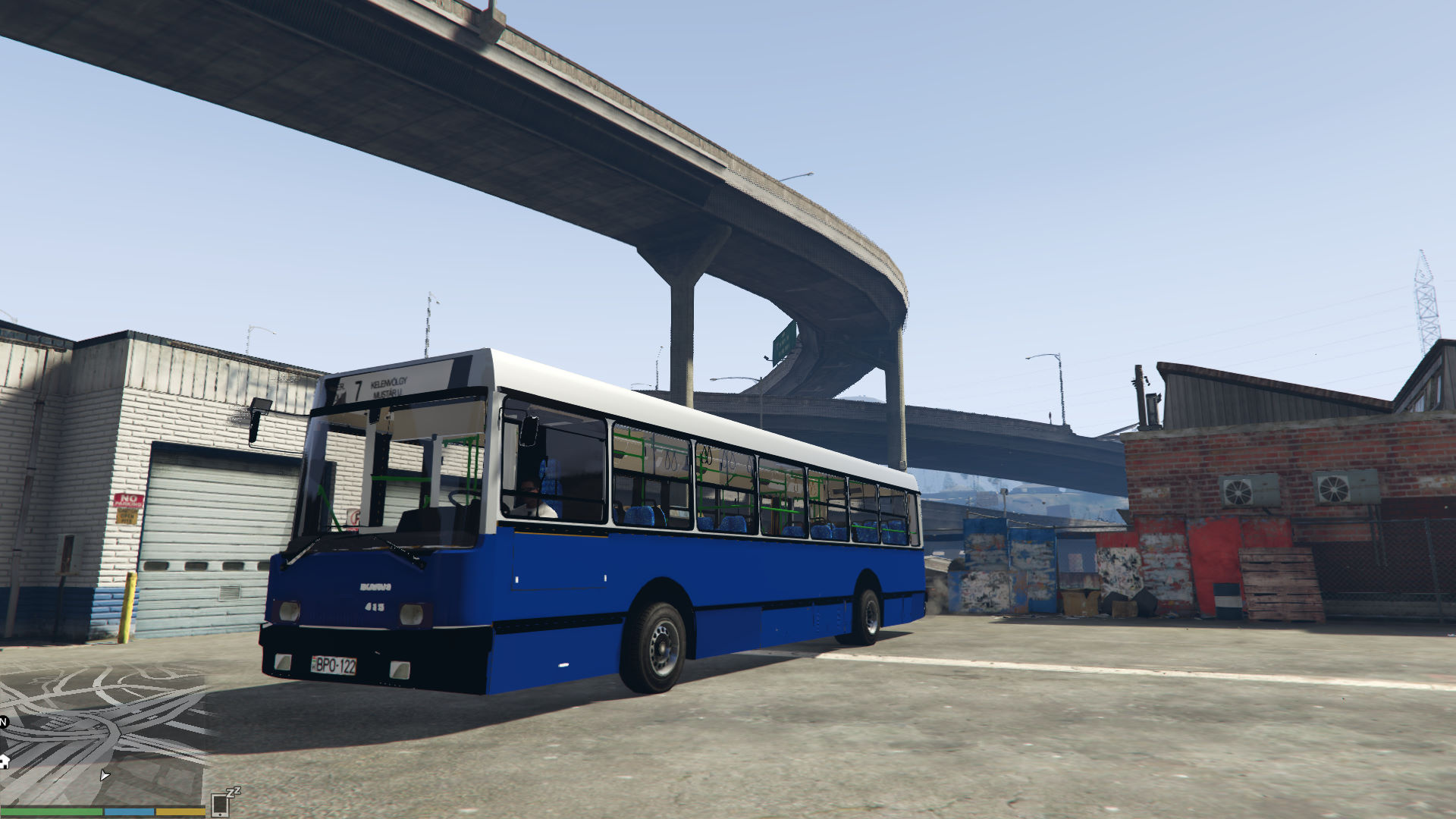 Ikarus 415 bkv gta5 for Ikarus