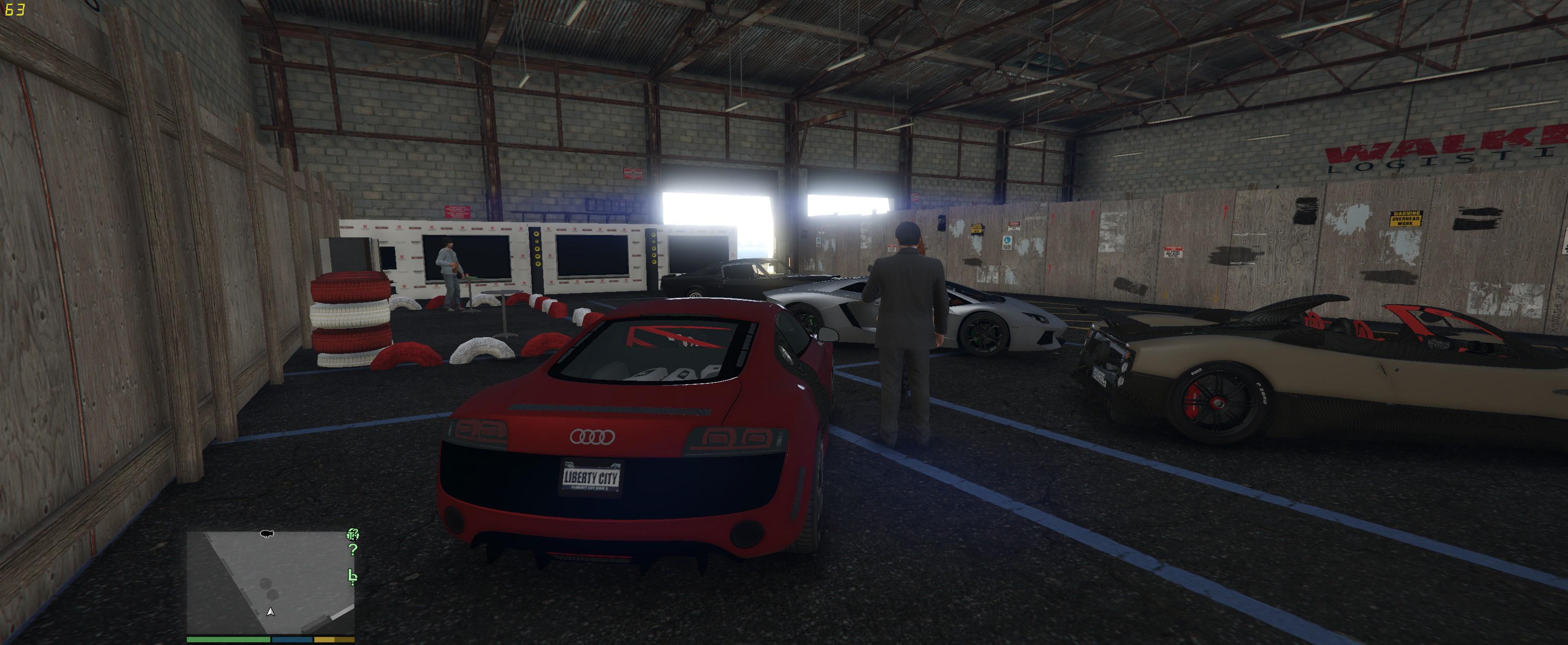 Illegal Custom Car Shop & Garage - GTA5-Mods com