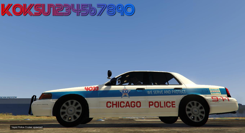 Chicago Police Cars Gta5
