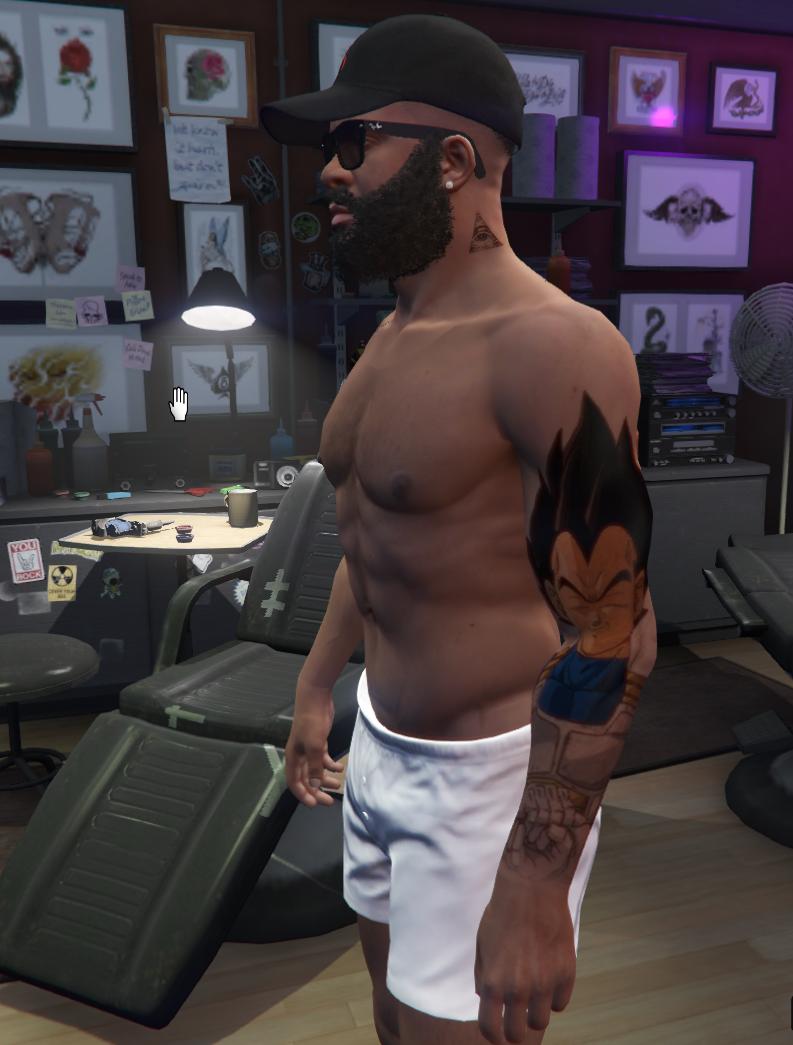 Illuminati And Vegeta Tattoo Gta5 Mods Com