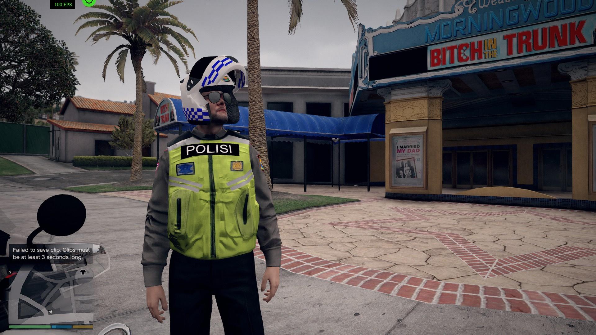 Indonesian Traffic Police Polisi Lalu Lintas Indonesia