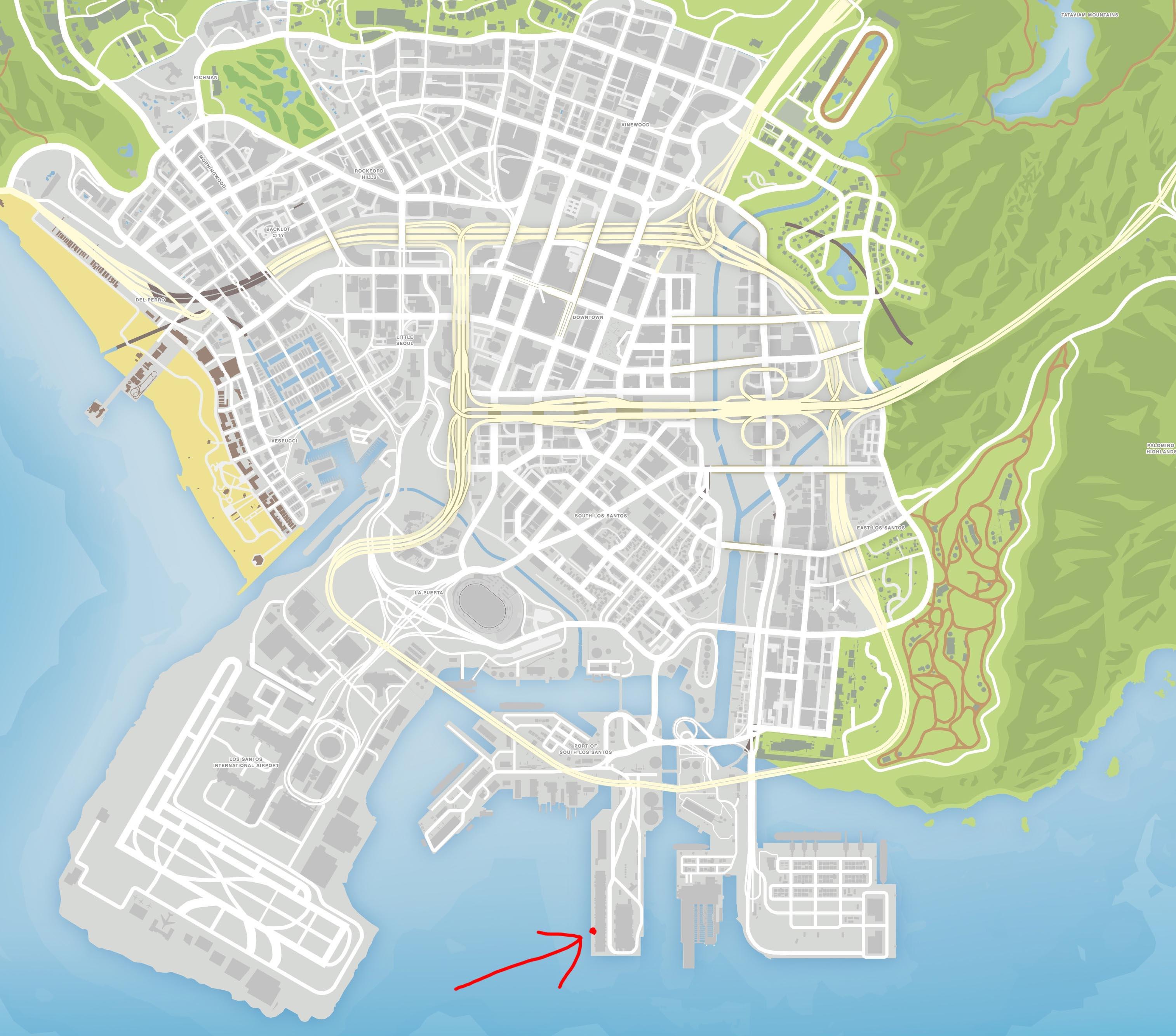 GTA5高清地图