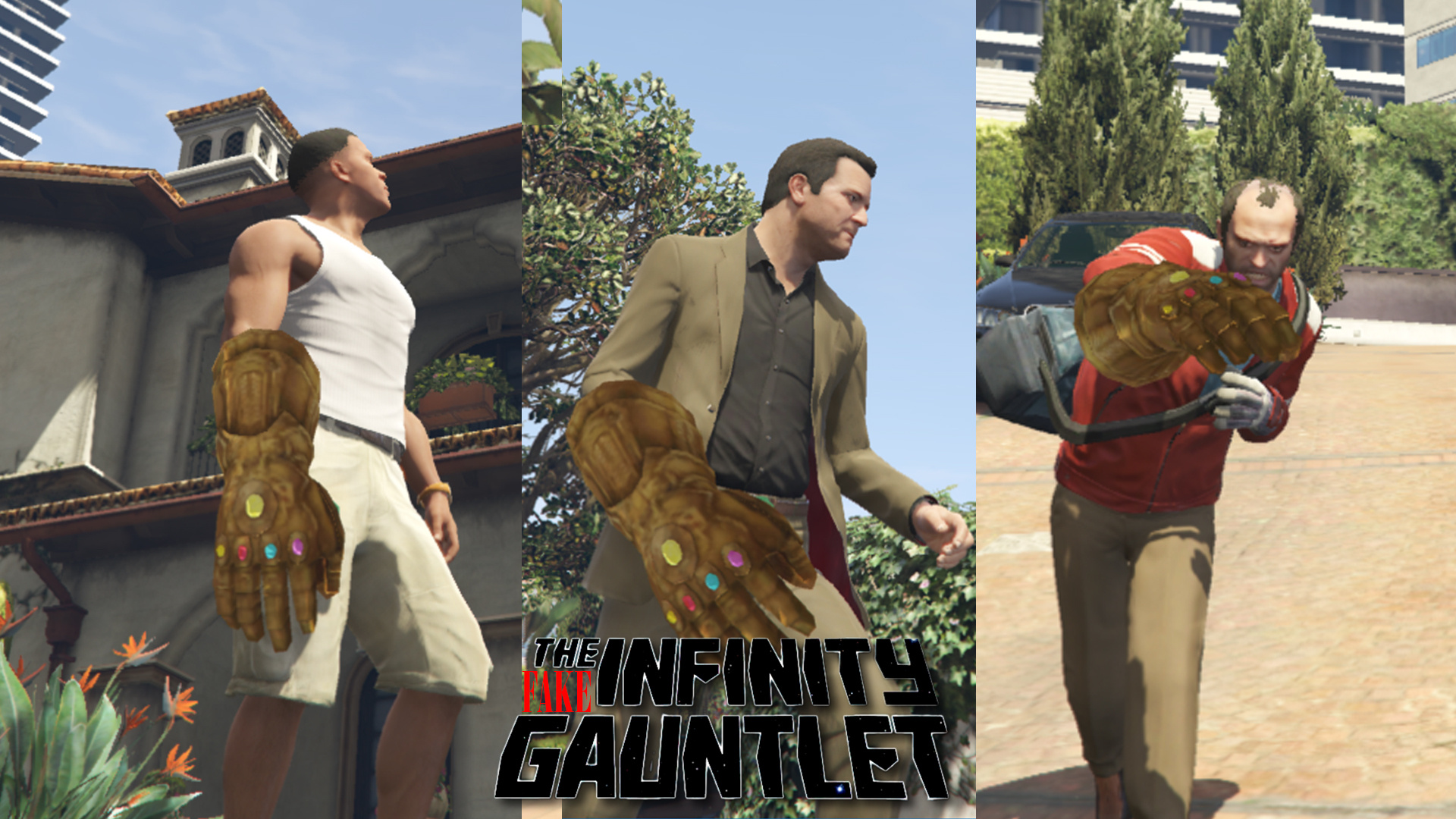 Infinity gauntlet (Odin's Treasure Room version) - GTA5-Mods com
