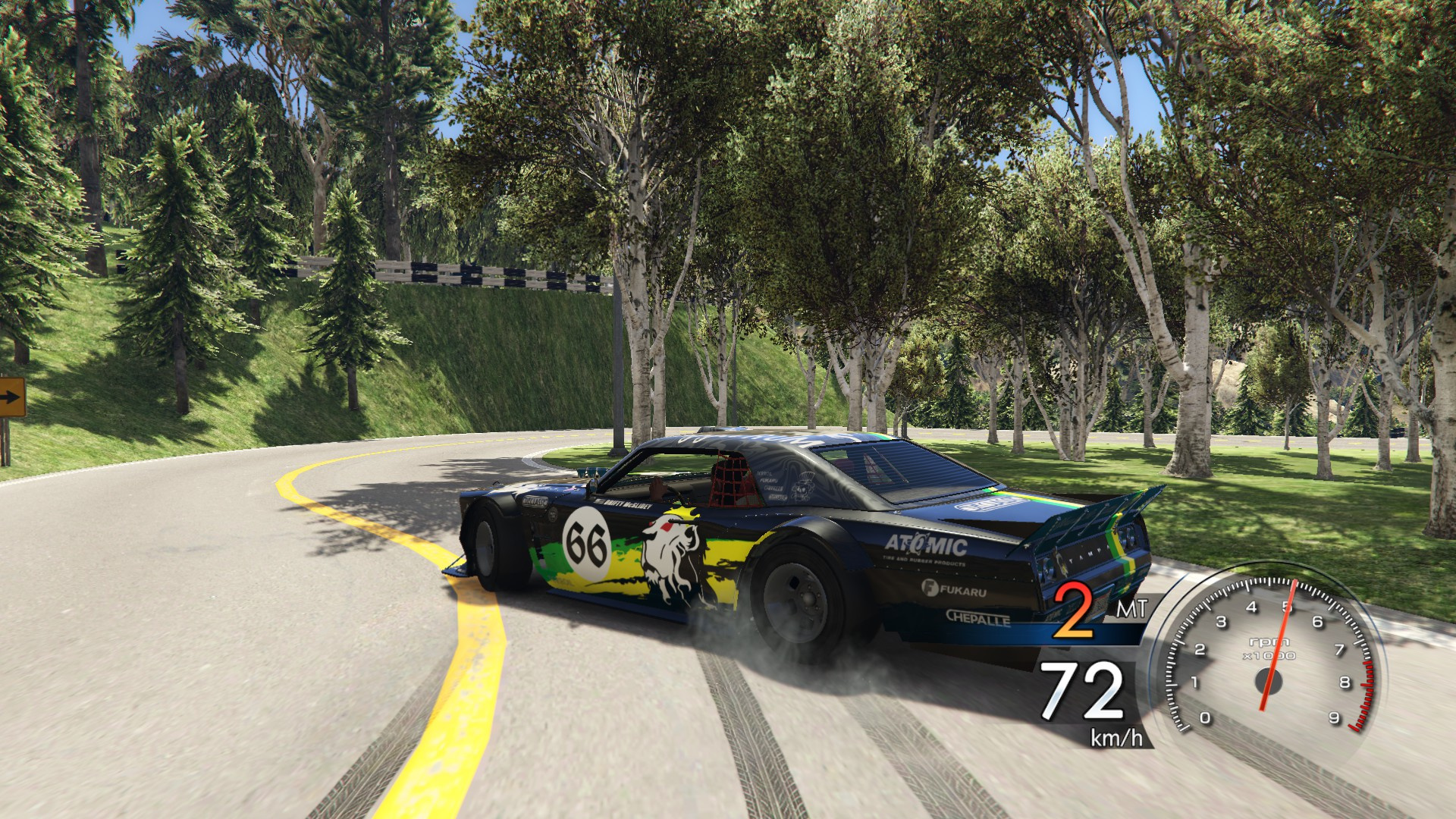 Initial D 6 AA Speedometer Hud - GTA5-Mods com