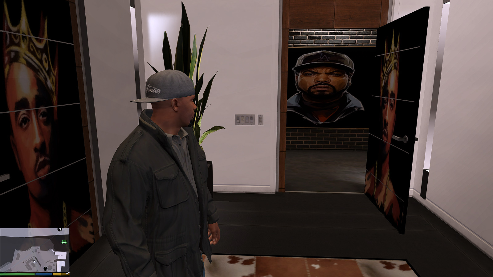 Interior Paintings For Franklin Michael And Trevor Gta5