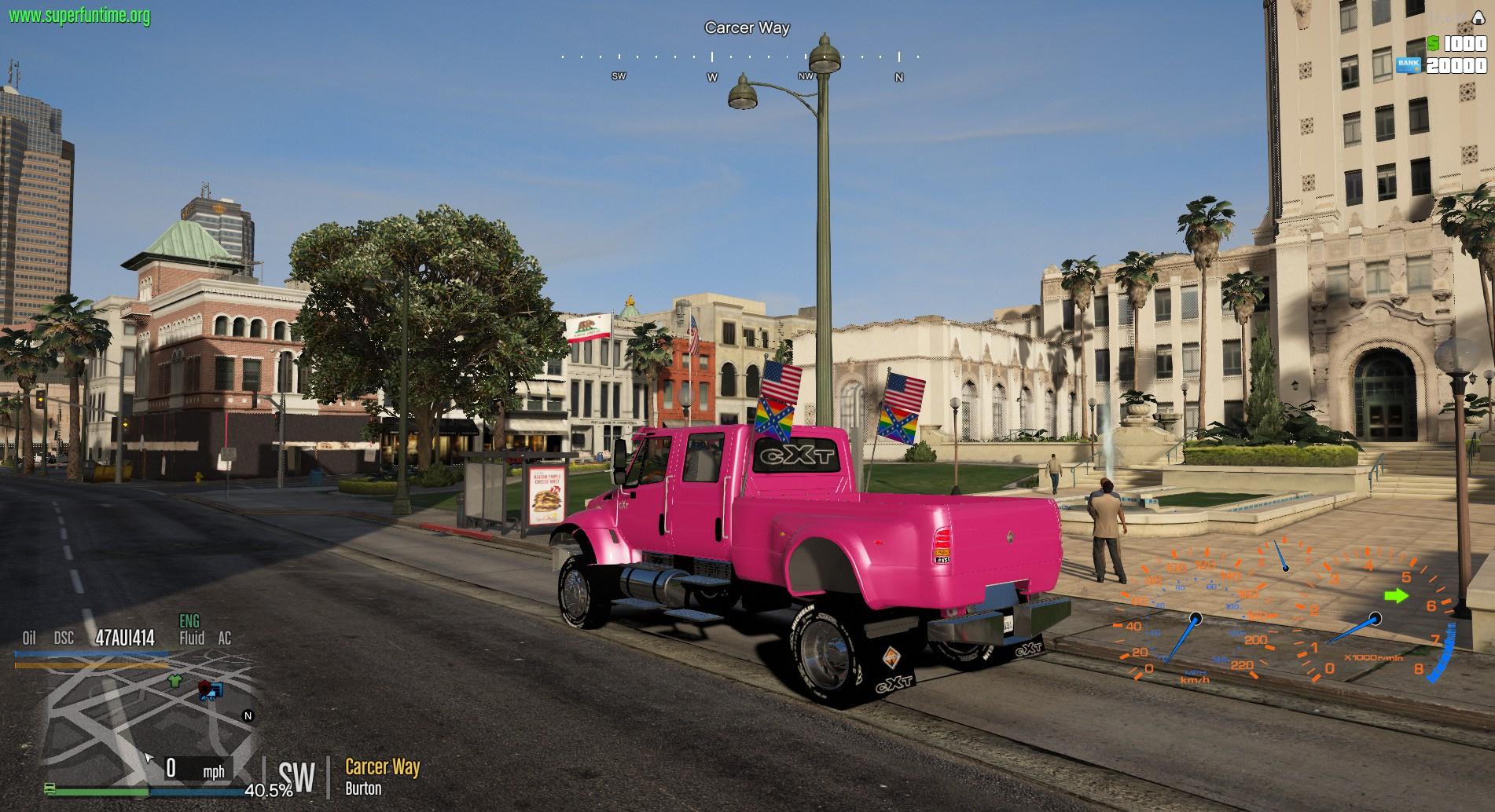 International CXT Pickup - GTA5-Mods com