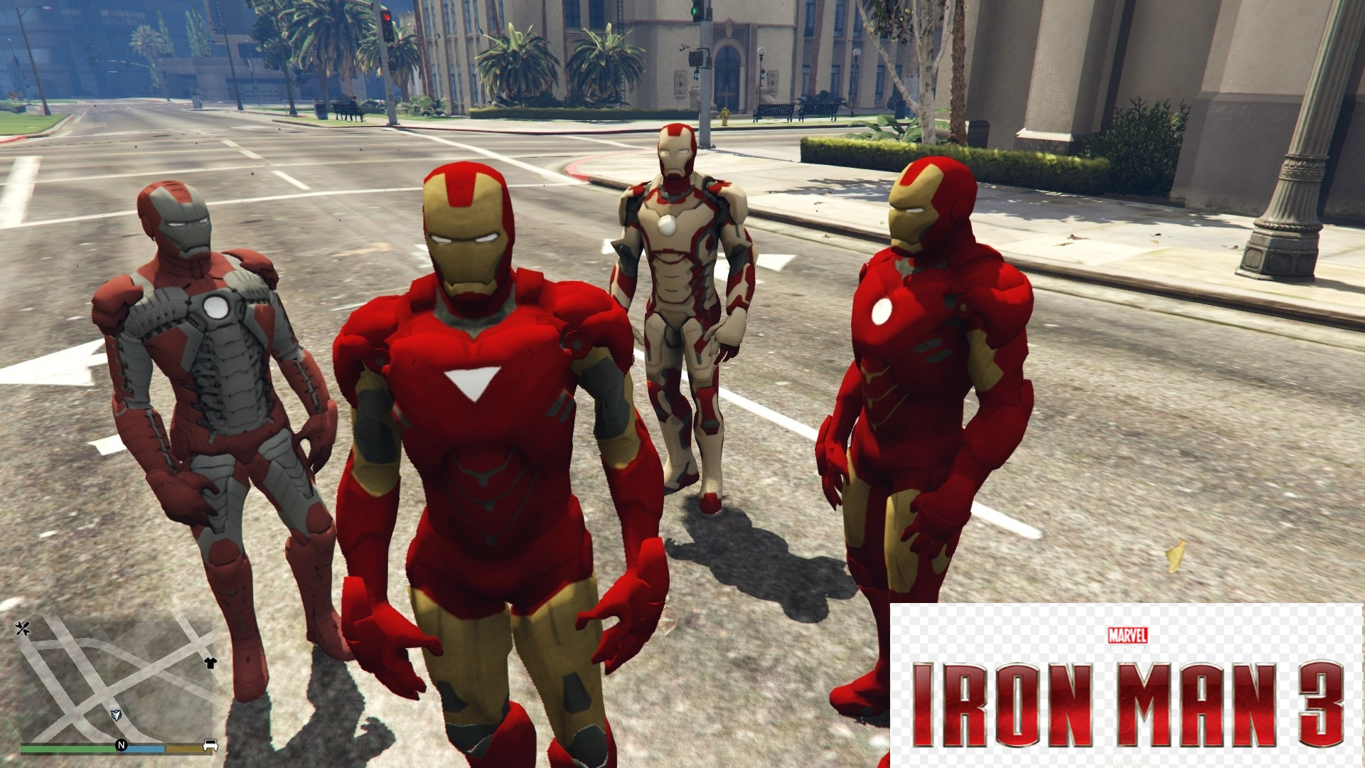 Iron Man Armors (Mark 4, 5, 6, 42) [Add-On Ped] - GTA5-Mods com