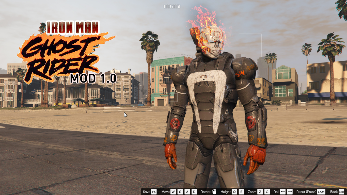IRON MAN - GHOST RIDER - GTA5-Mods com
