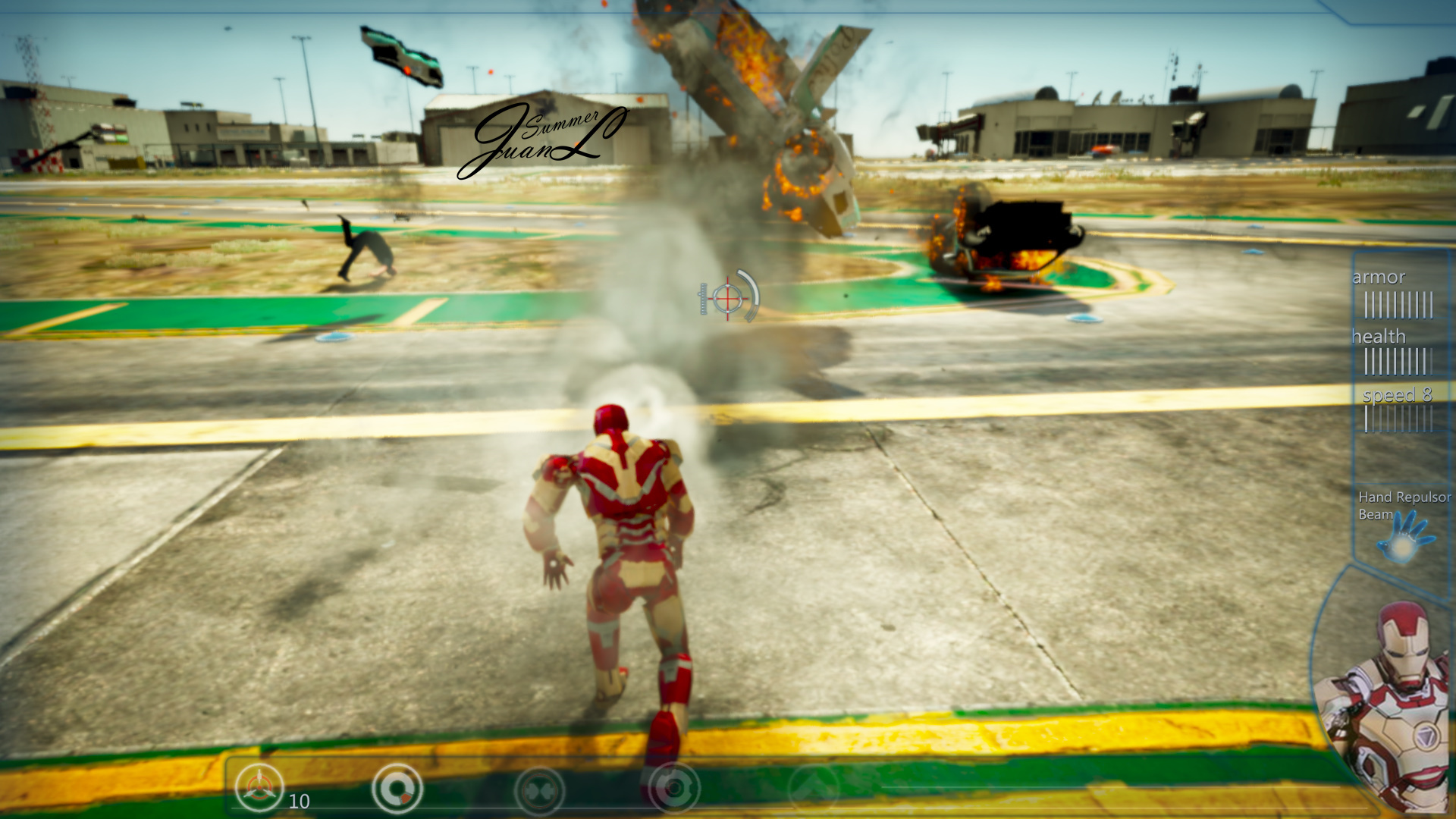 Iron Man HUD - GTA5-Mods com