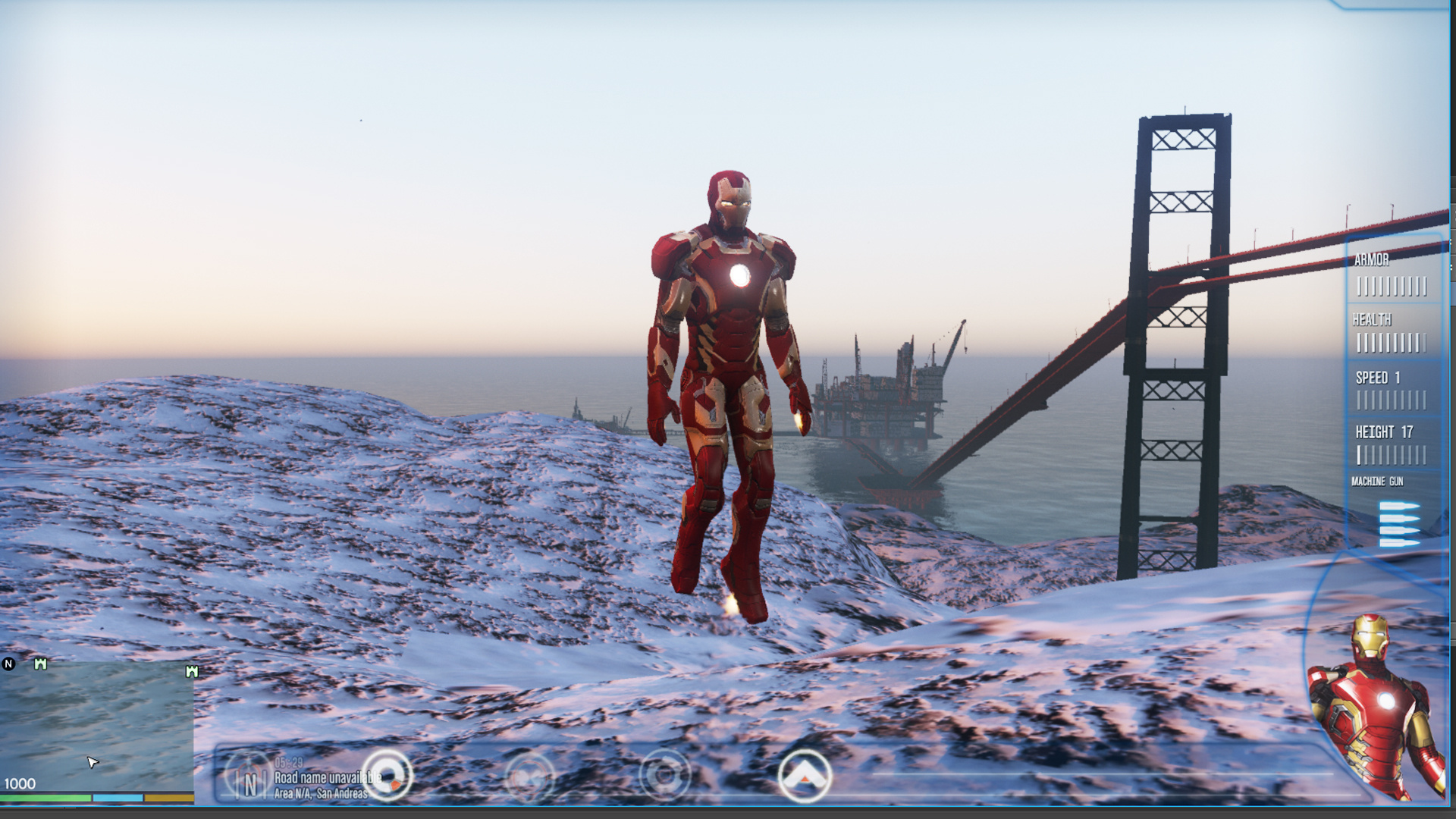 Iron Man Mark 43 (Avengers Age of Ultron) [Add-On Ped
