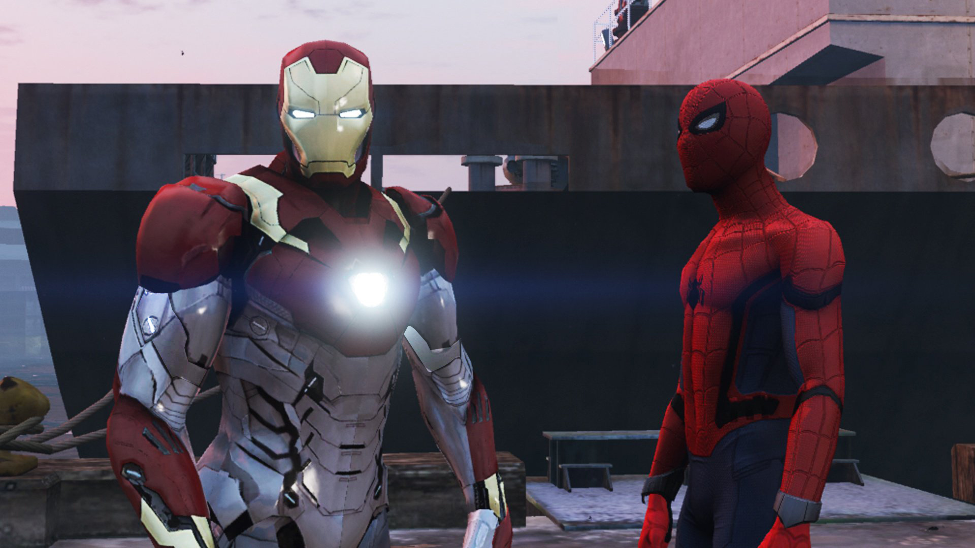 Iron Man Mark 47 (Spider-man Home Coming) [Add-On Ped