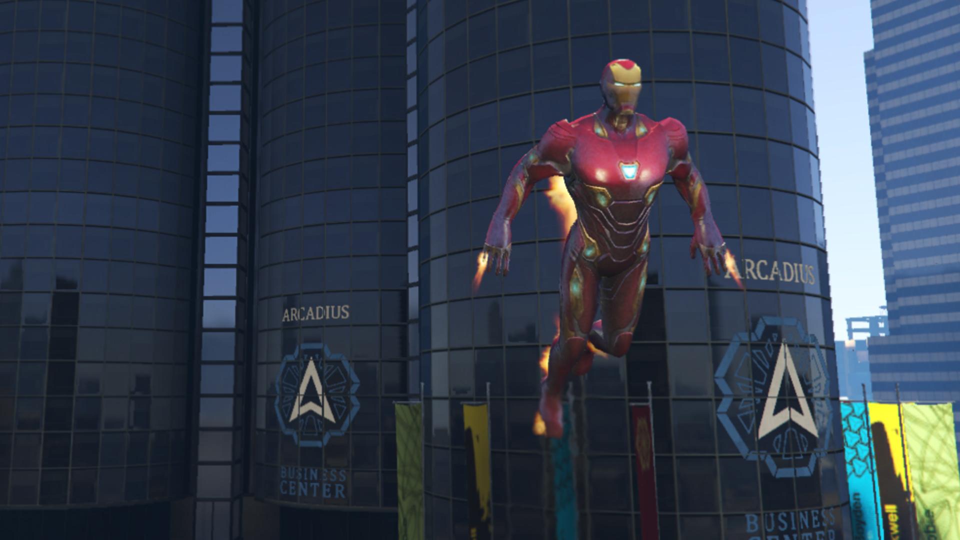 iron man mark 50 (mff version full emissive update) - gta5-mods