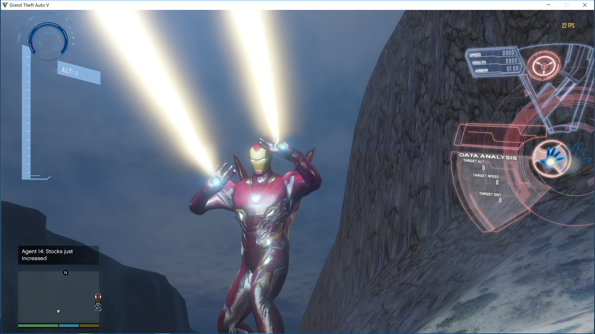 Iron Man Mark 50 (MFF version Full emissive update) - GTA5-Mods com