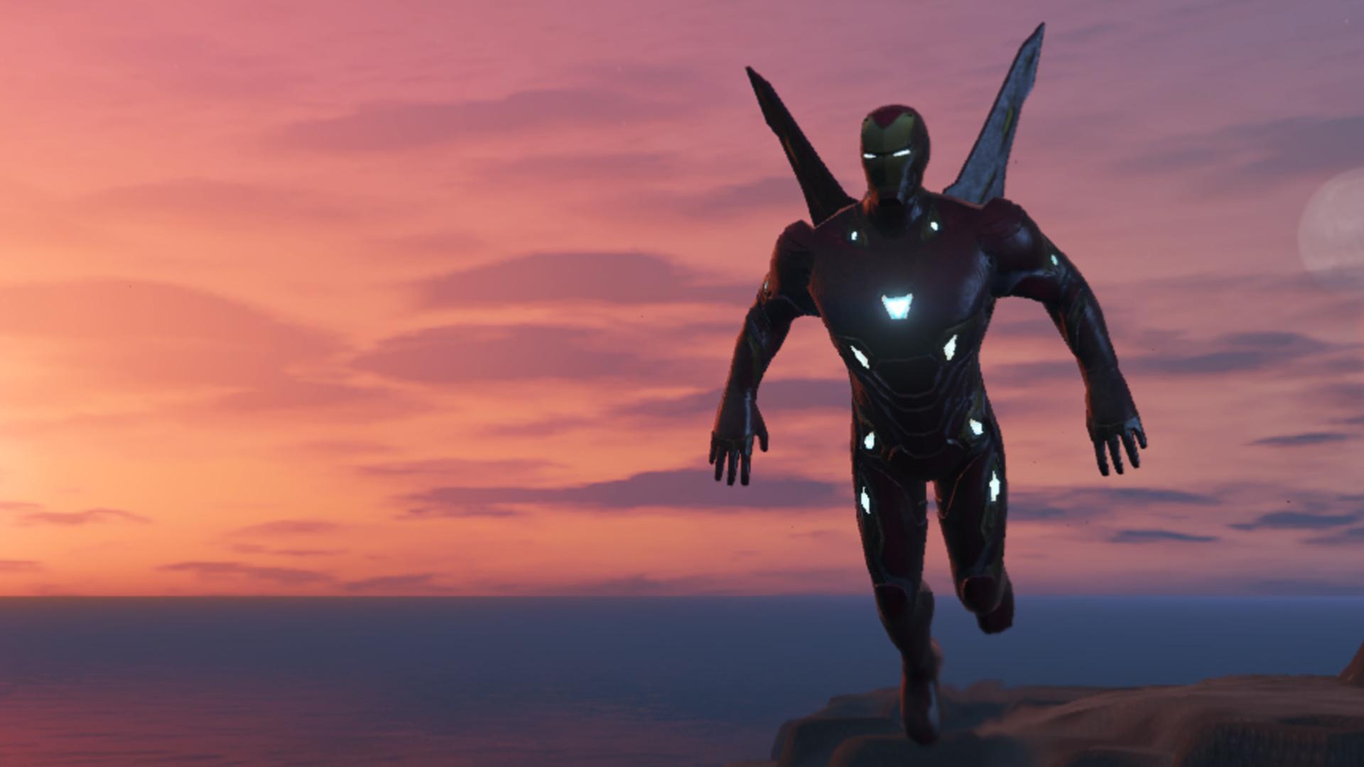 Iron Man Mark 50 (MFF version Full emissive update) - GTA5